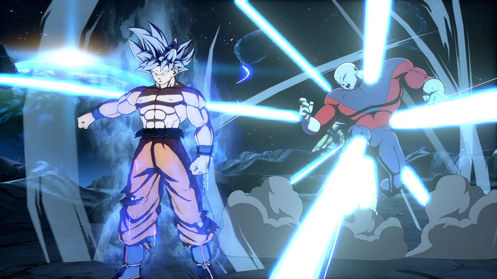 DRAGON BALL FIGHTERZ - Goku (Ultra Instinct) screenshot