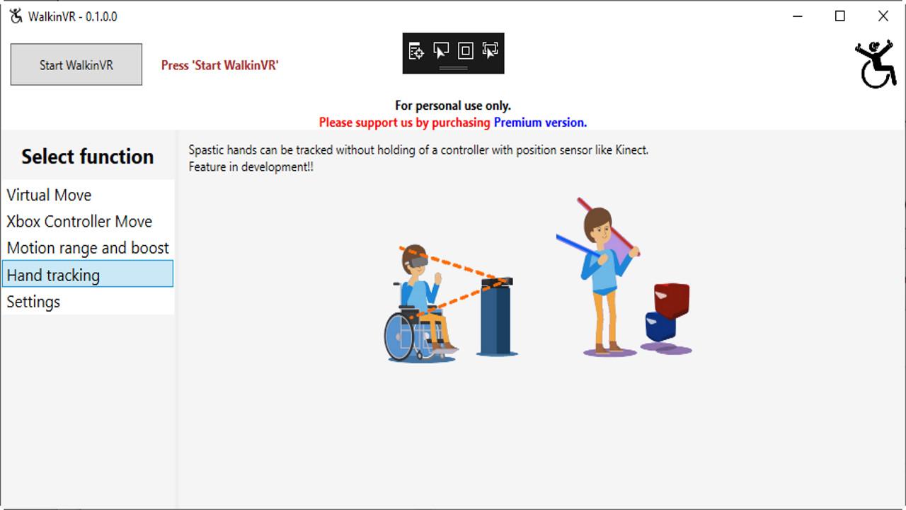 WalkinVR - Premium screenshot