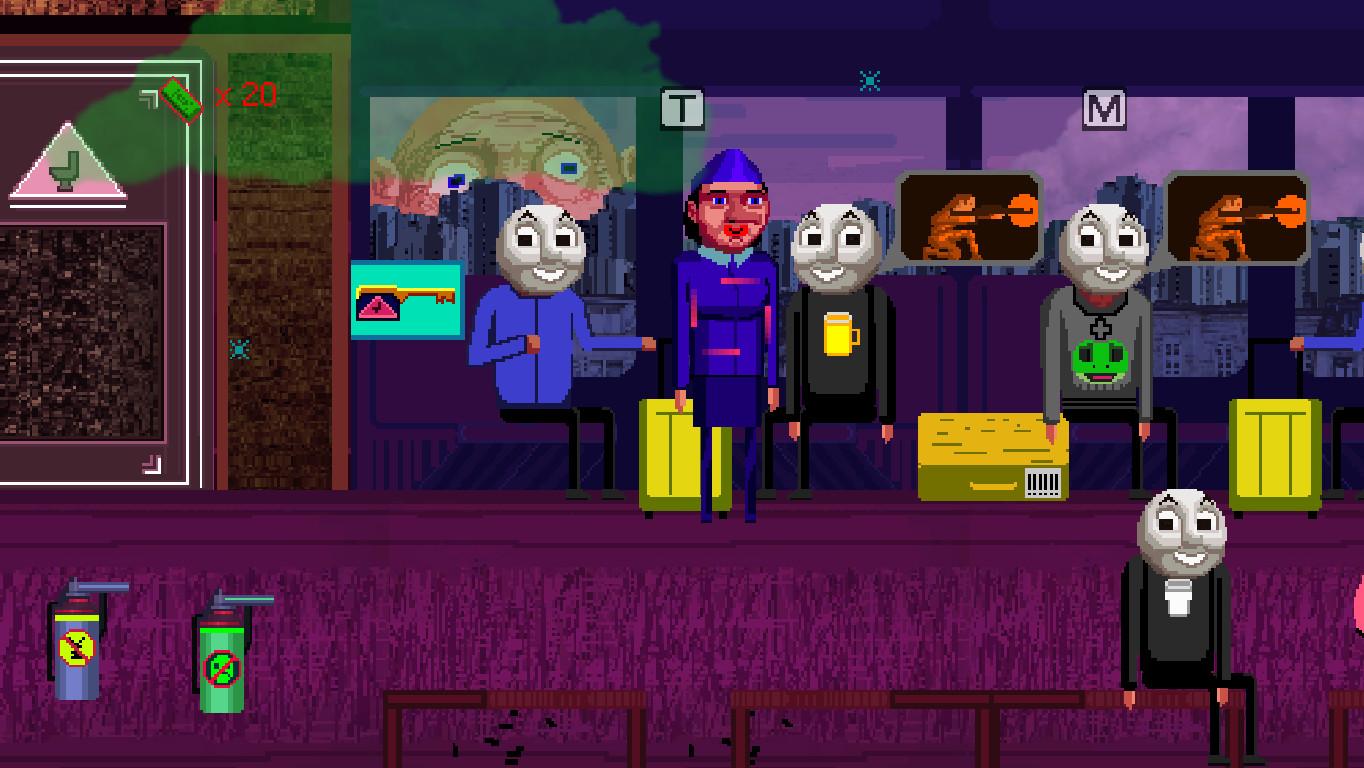 Bloody trains - Faces Faces Choo Choo Choo screenshot
