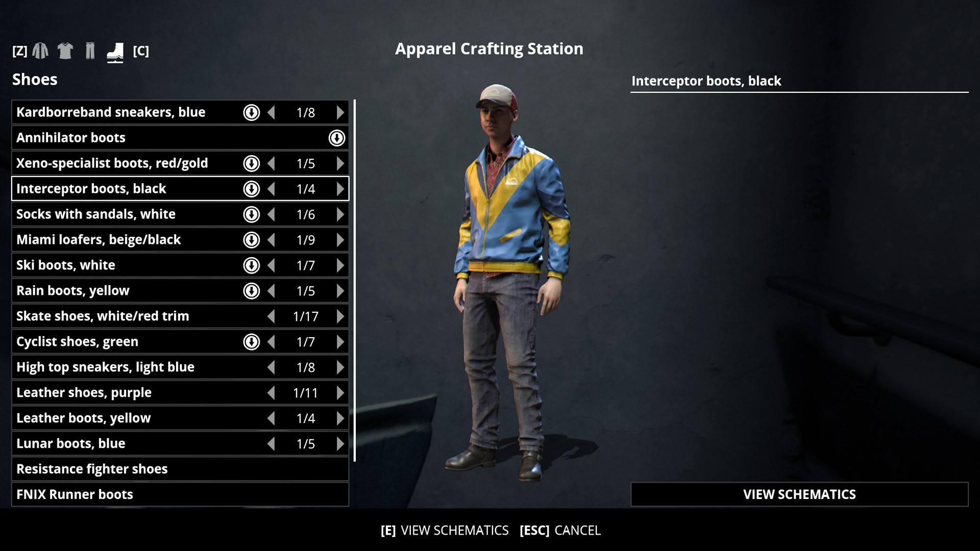 Generation Zero - Apparel Crafting screenshot