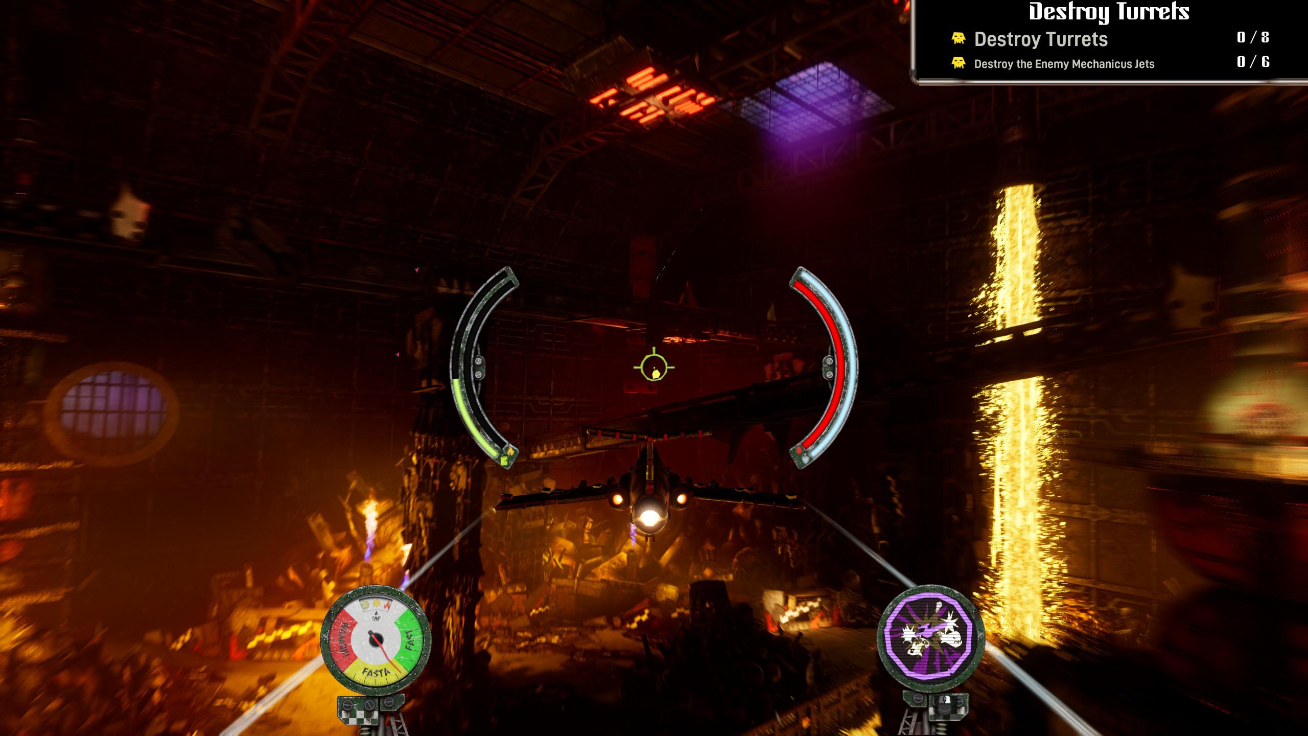 Warhammer 40,000: Dakka Squadron - Flyboyz Edition screenshot