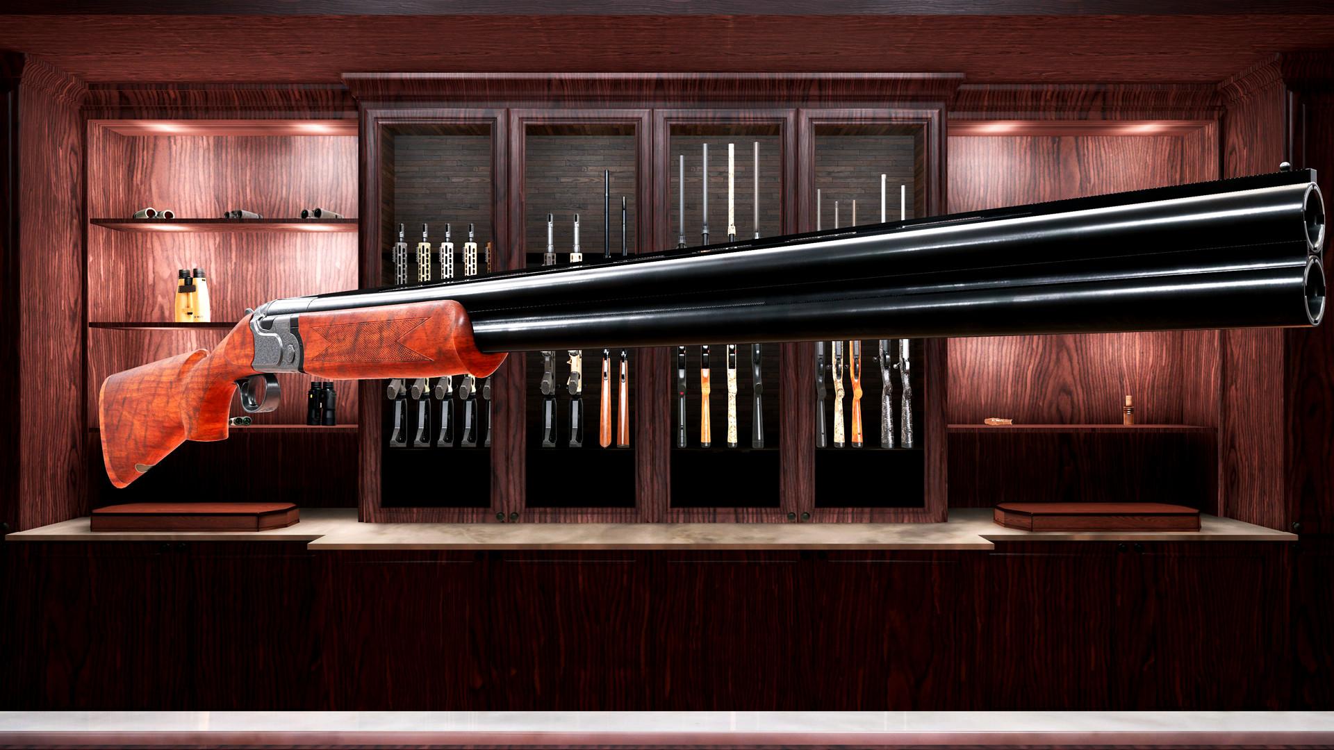 Hunting Simulator 2 Beretta Weapon Pack screenshot