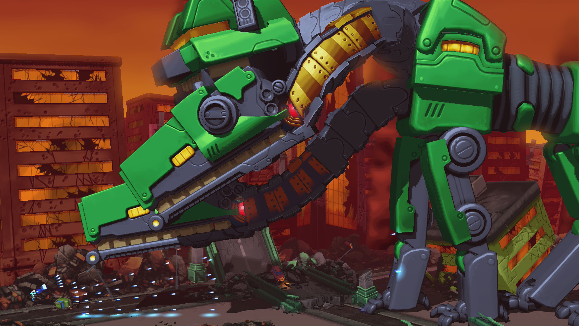 Mechstermination Force screenshot