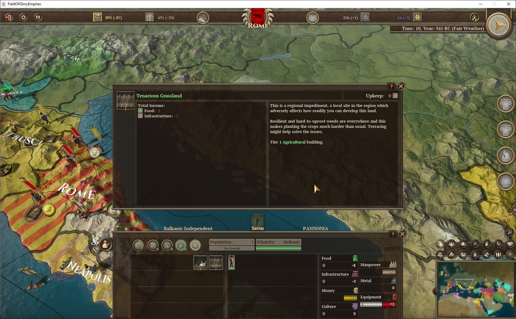 Field of Glory: Empires - Persia 550 - 330 BCE screenshot