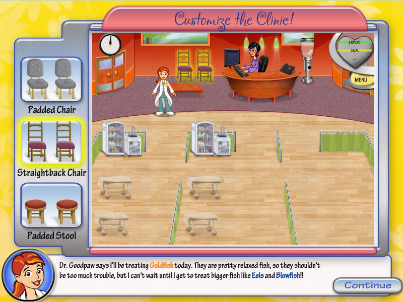 Dr. Daisy Pet Vet screenshot