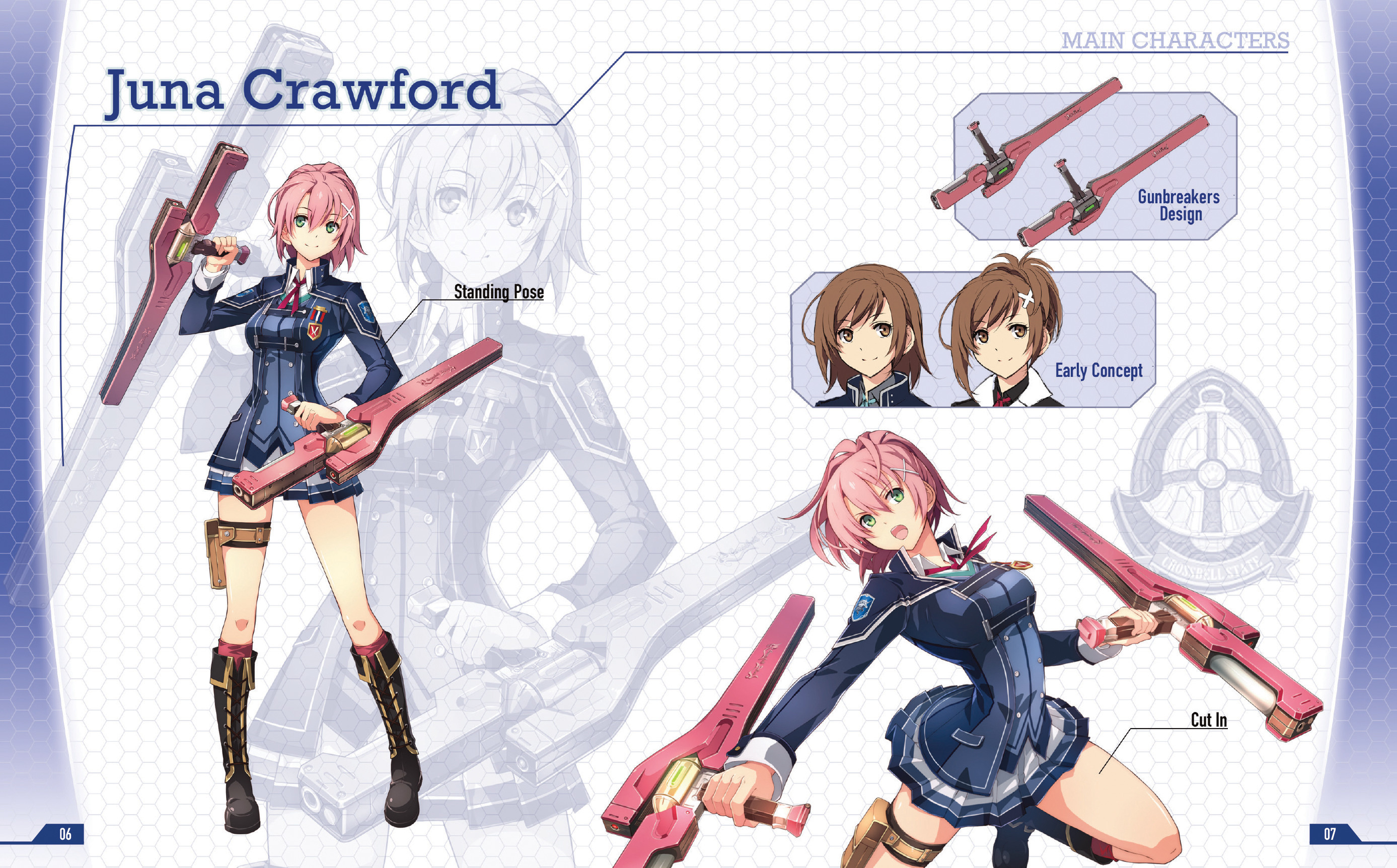 The Legend of Heroes: Trails of Cold Steel III  - Branch Campus Student Directory Digital Mini Art Book screenshot