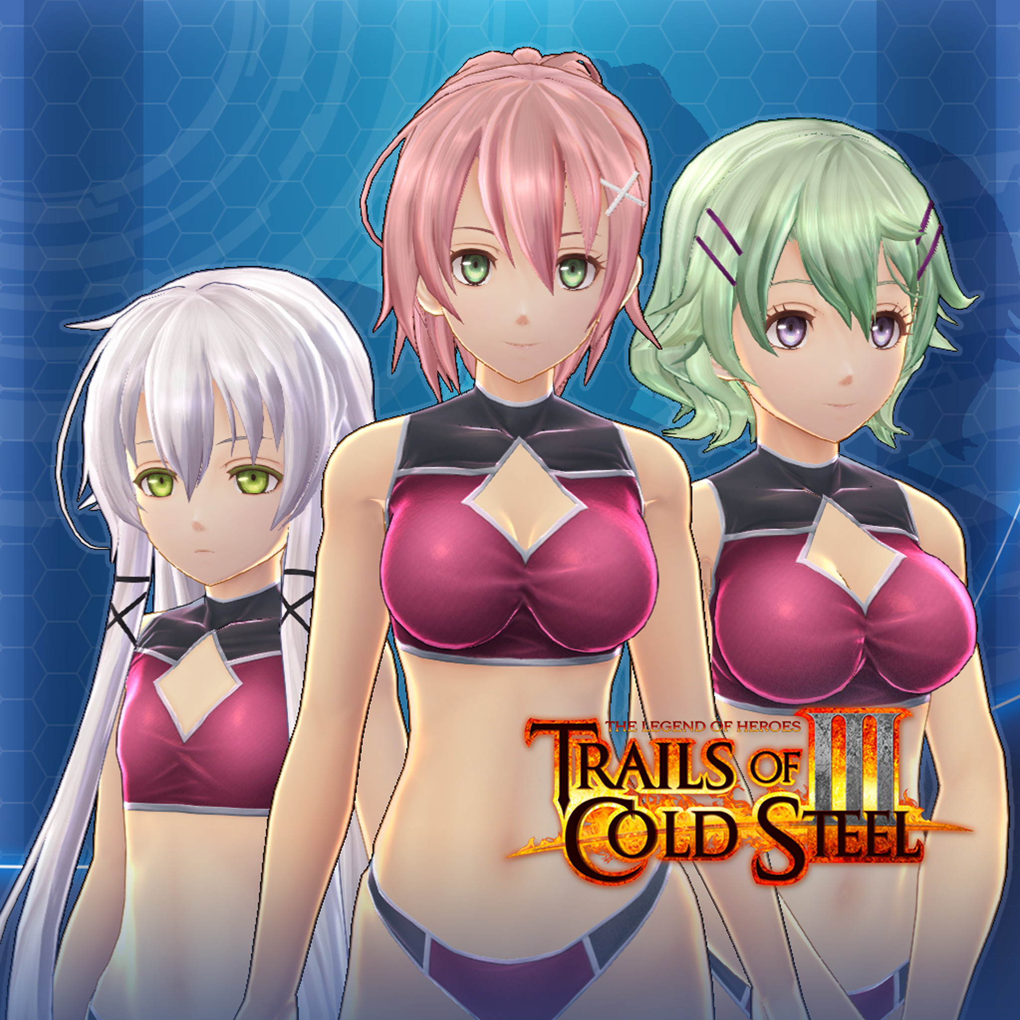 The Legend of Heroes: Trails of Cold Steel III  - Faculty Swimsuit Set screenshot