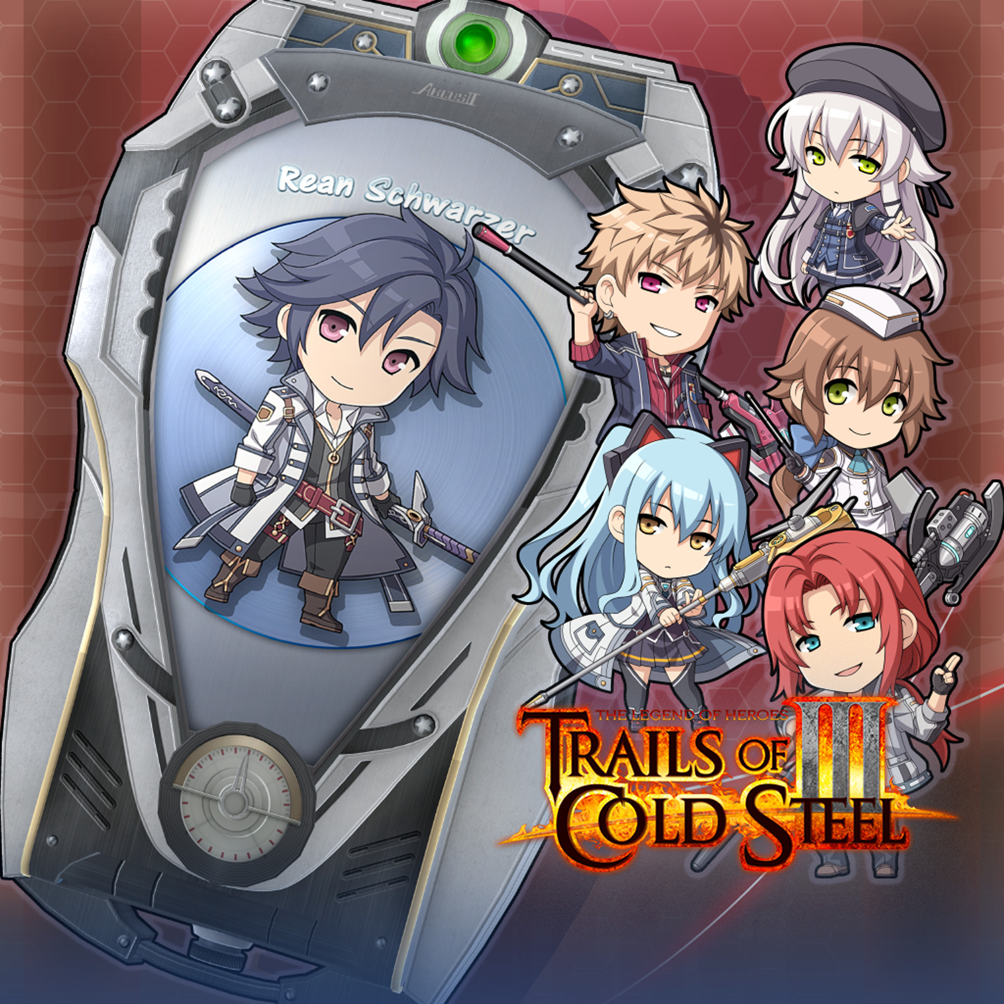 The Legend of Heroes: Trails of Cold Steel III  - ARCUS Cover Set A screenshot