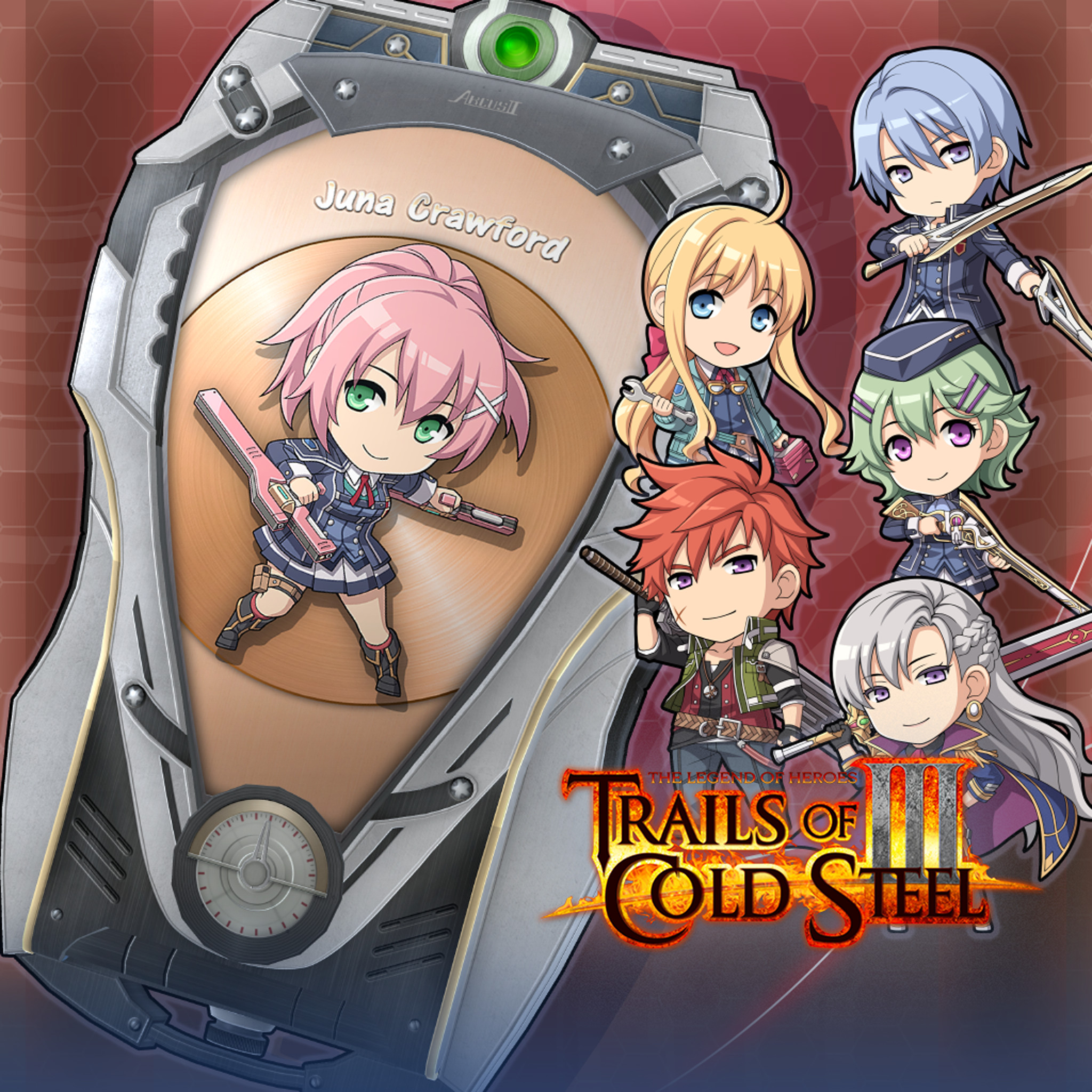 The Legend of Heroes: Trails of Cold Steel III  - ARCUS Cover Set B screenshot