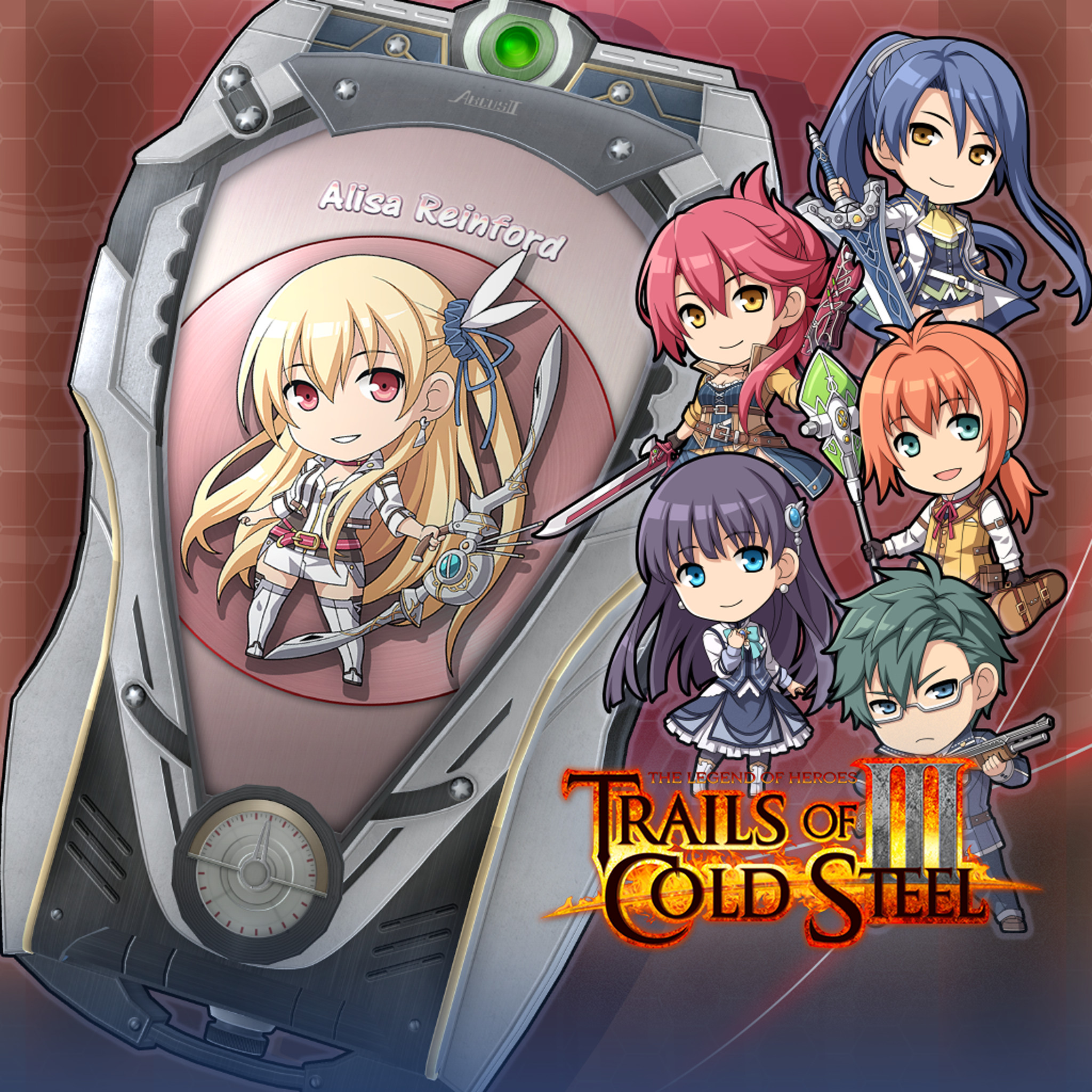 The Legend of Heroes: Trails of Cold Steel III  - ARCUS Cover Set C screenshot