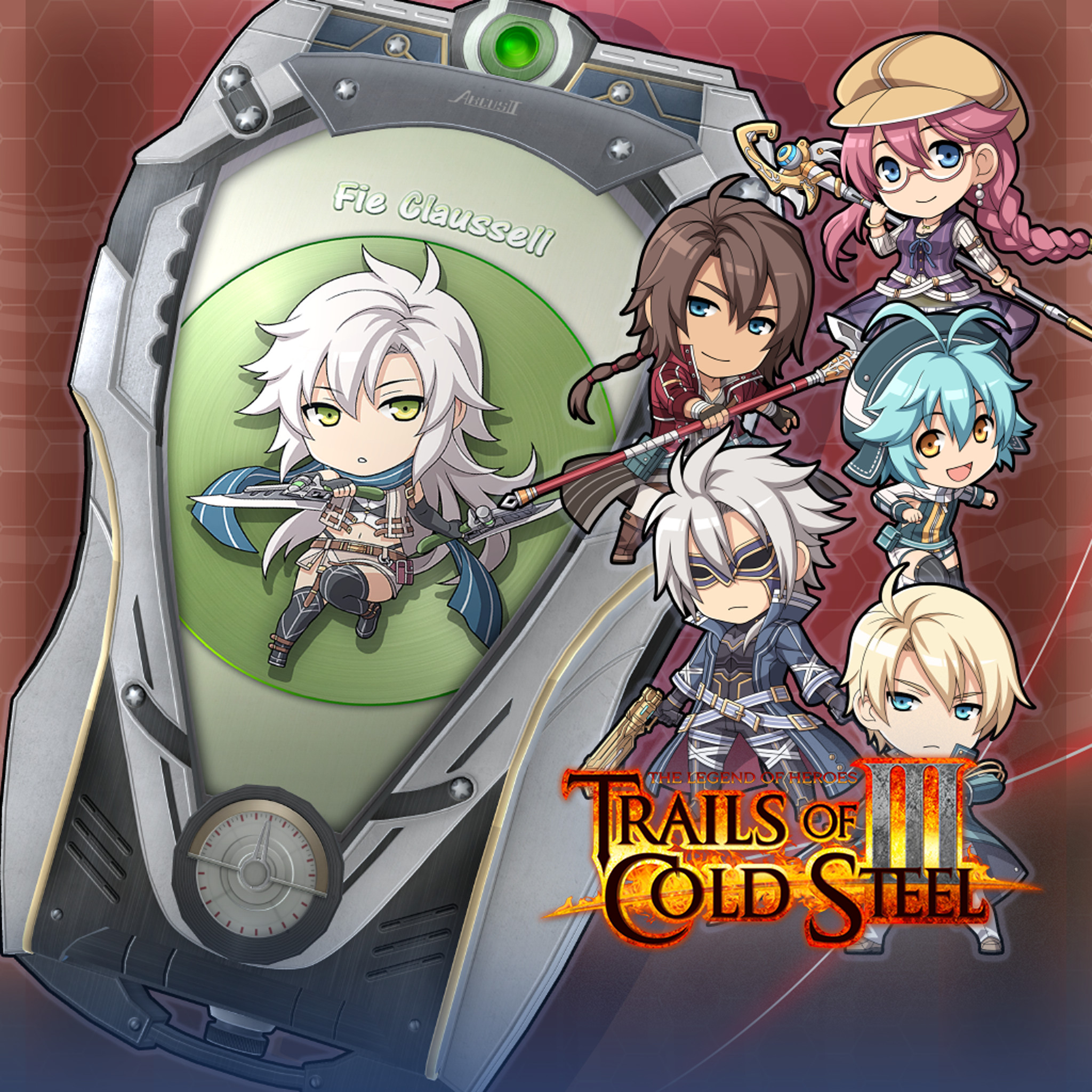 The Legend of Heroes: Trails of Cold Steel III  - ARCUS Cover Set D screenshot