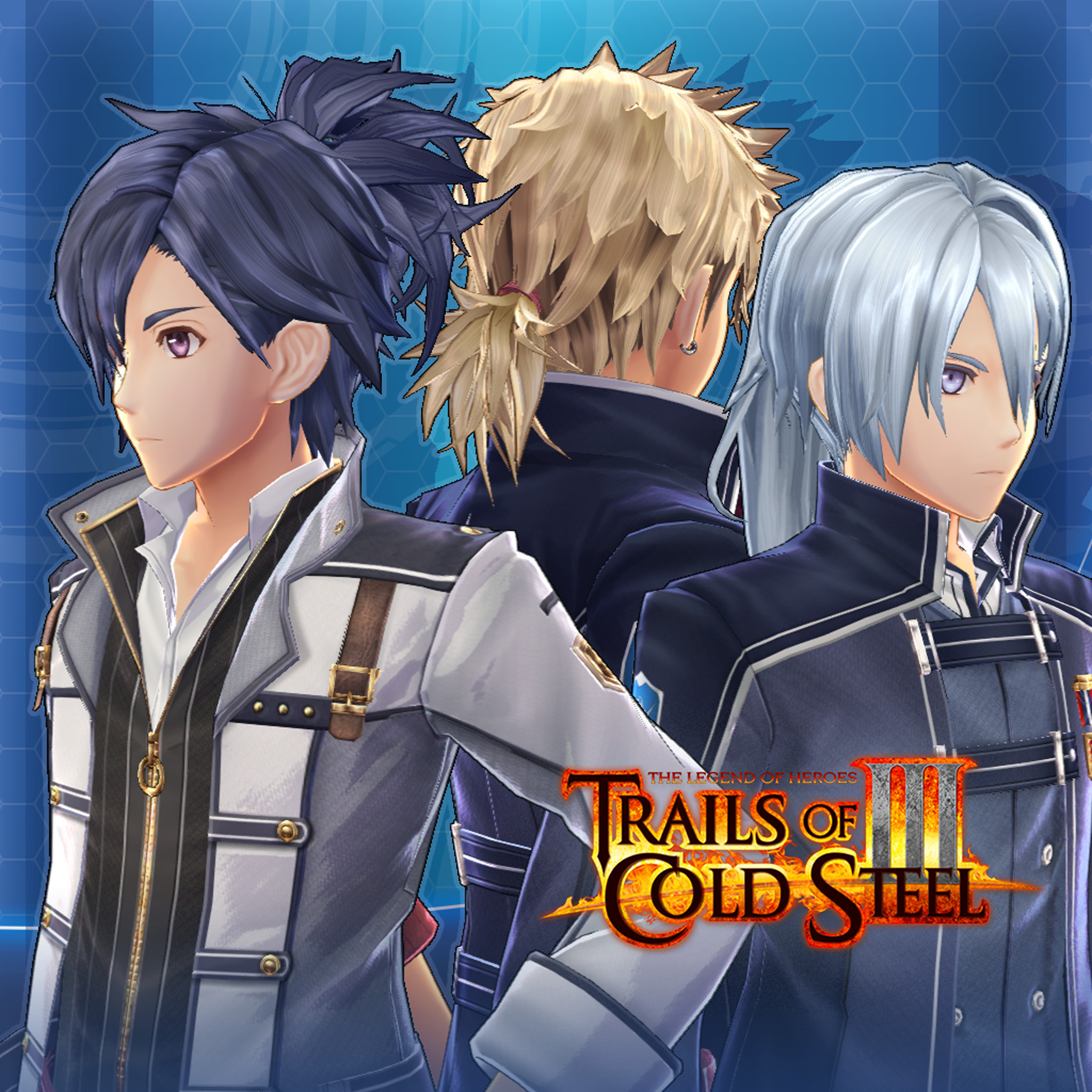 The Legend of Heroes: Trails of Cold Steel III  - Cool Hair Extension Set screenshot