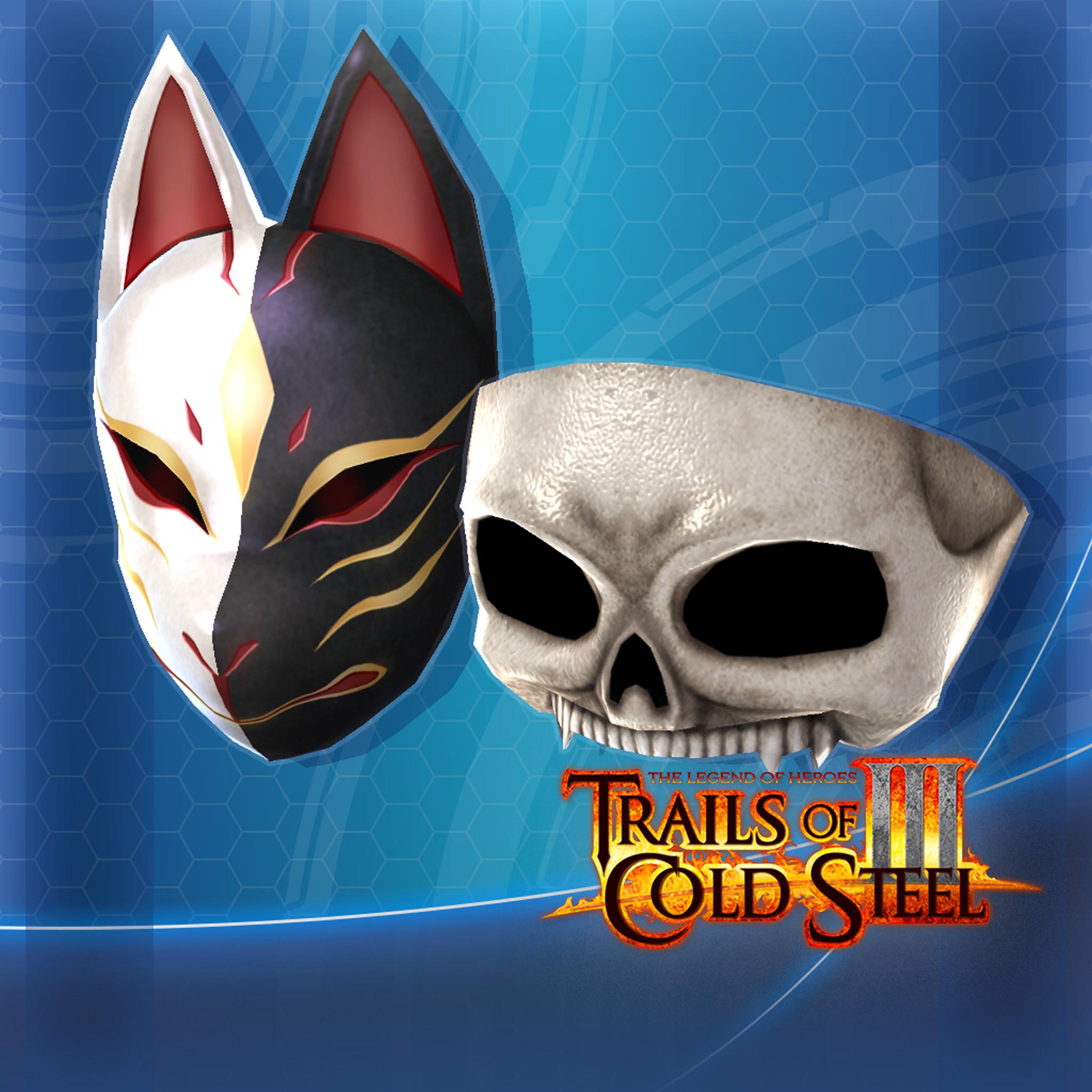 The Legend of Heroes: Trails of Cold Steel III  - Mask Set screenshot