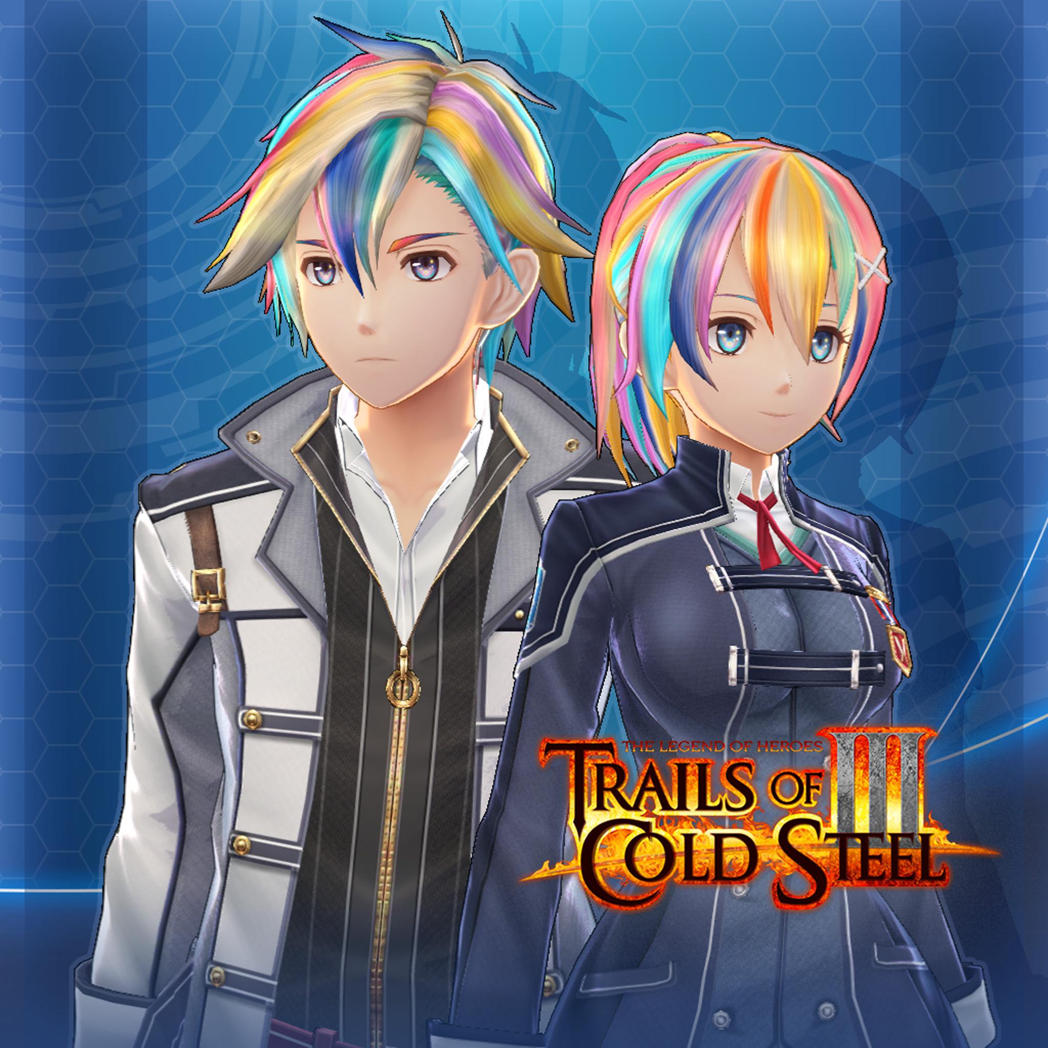 The Legend of Heroes: Trails of Cold Steel III  - Rainbow Hair Set screenshot
