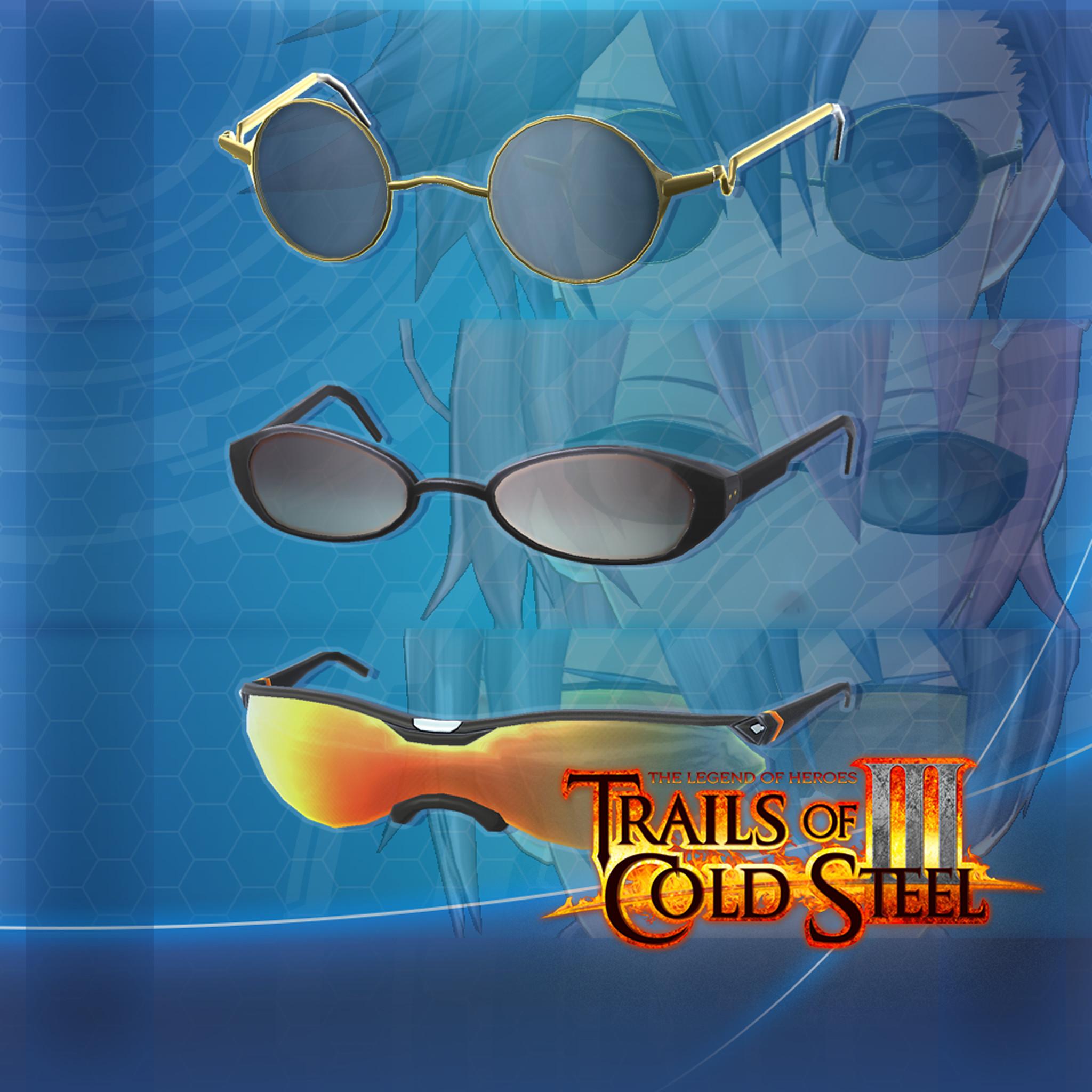 The Legend of Heroes: Trails of Cold Steel III  - Stylish Sunglasses Set screenshot