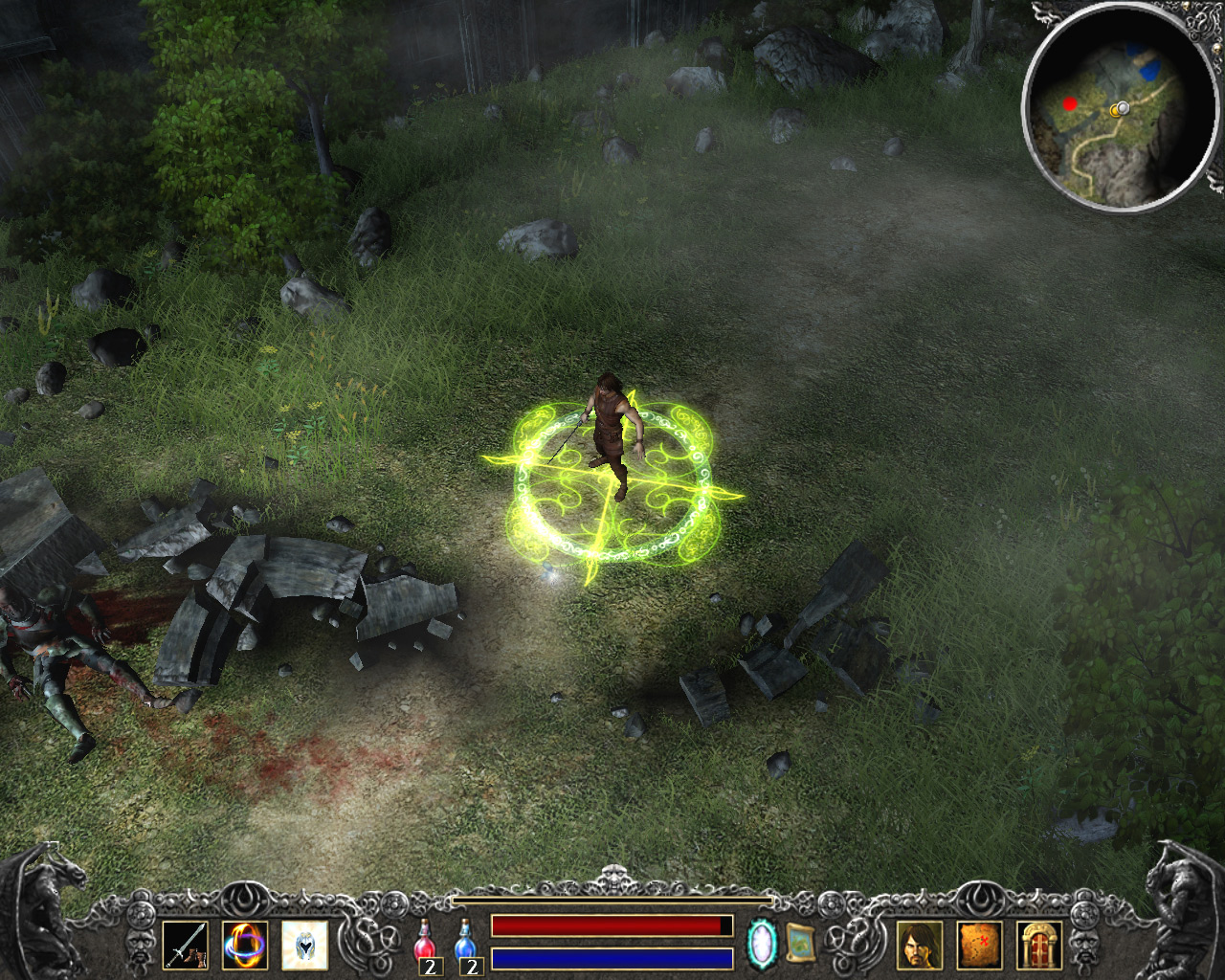 Legend - Hand of God screenshot