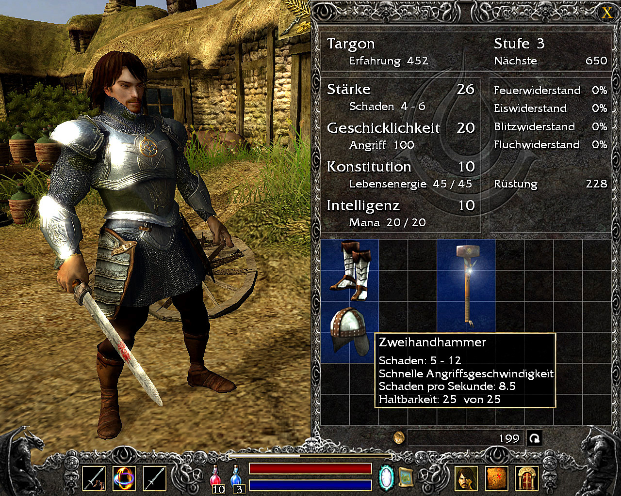 Legend - Hand of God screenshot