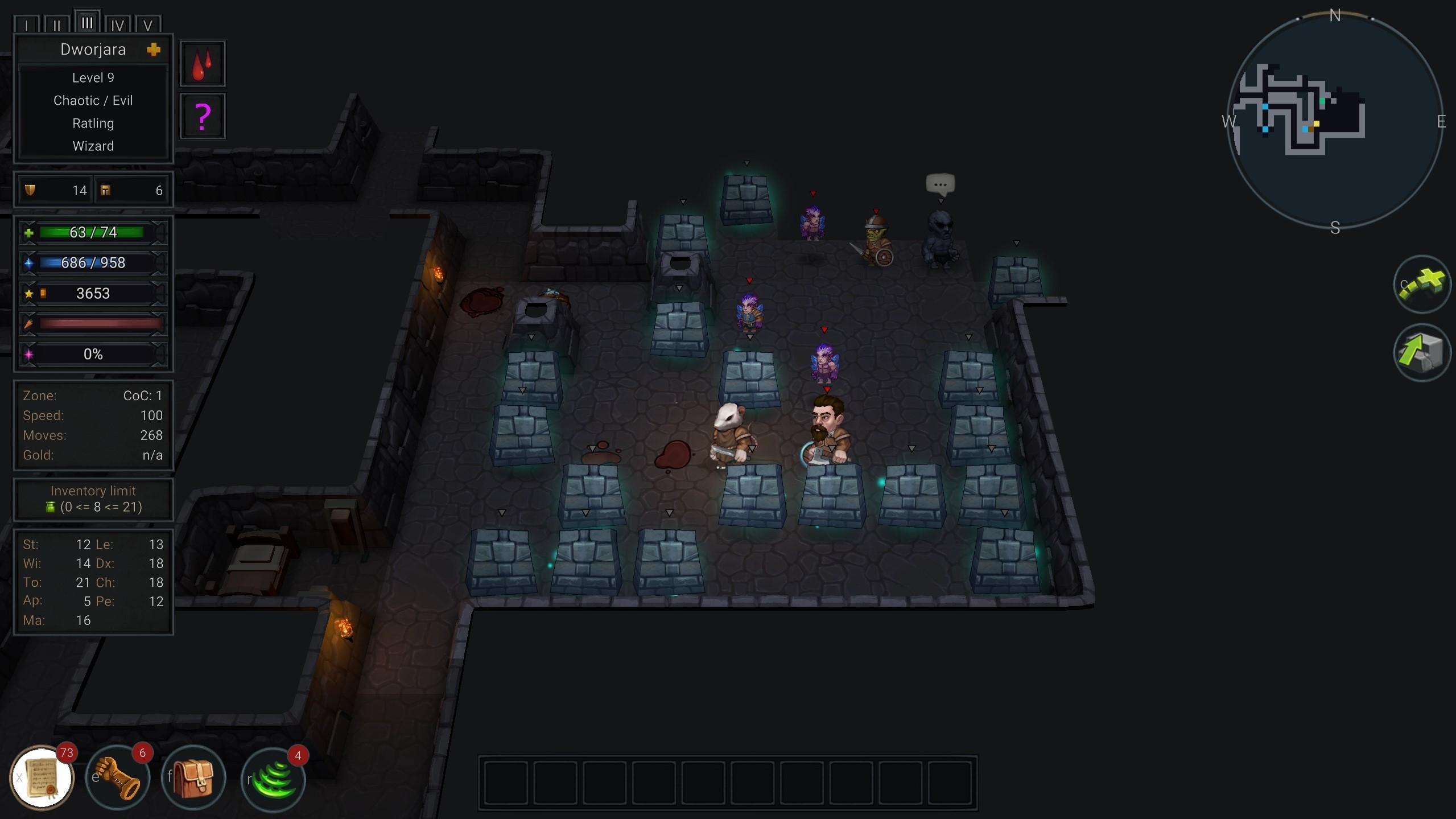 Ultimate ADOM - Caverns of Chaos screenshot
