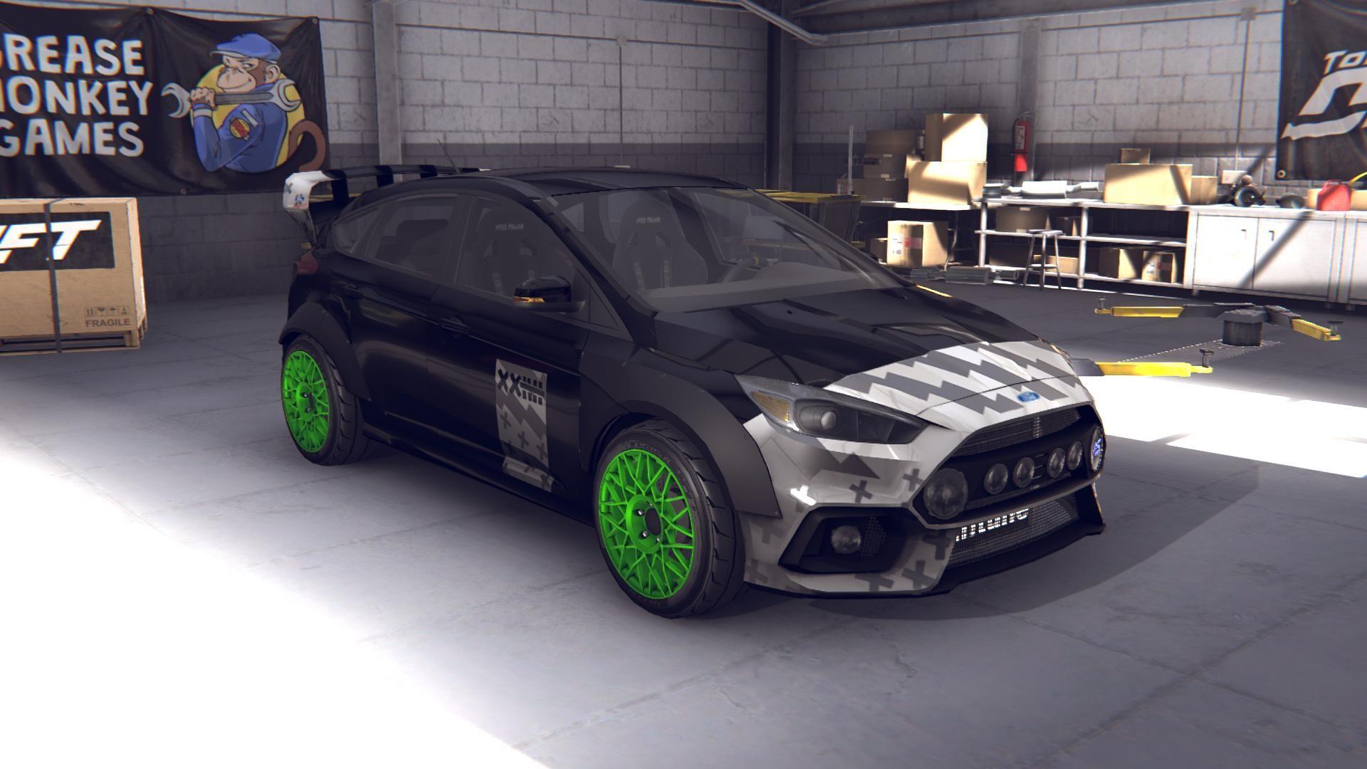 Torque Drift - Vaughn Gittin Jr Ford Focus Driver Car screenshot