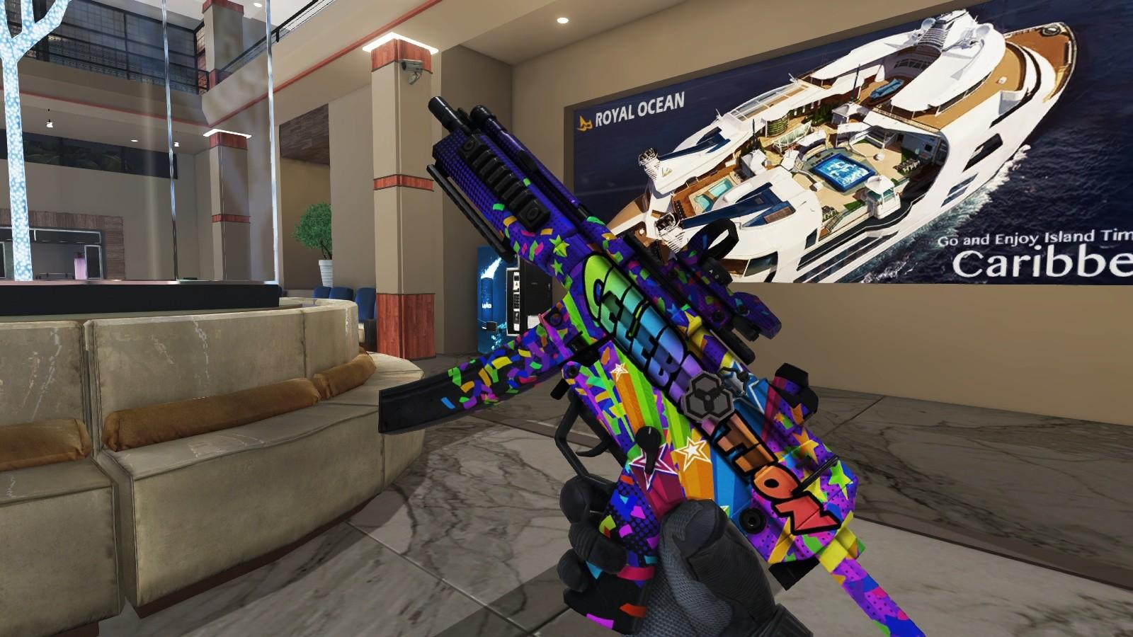 Ironsight - Celebrations MP5 A5 Pack screenshot