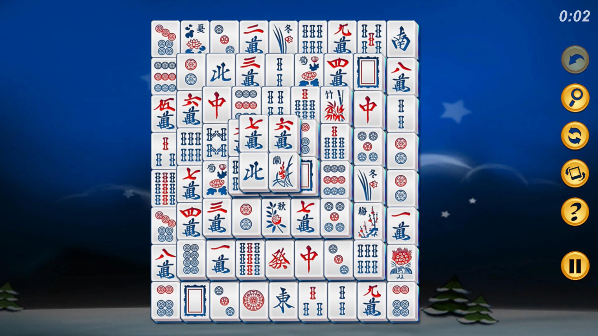 Mahjong Deluxe screenshot