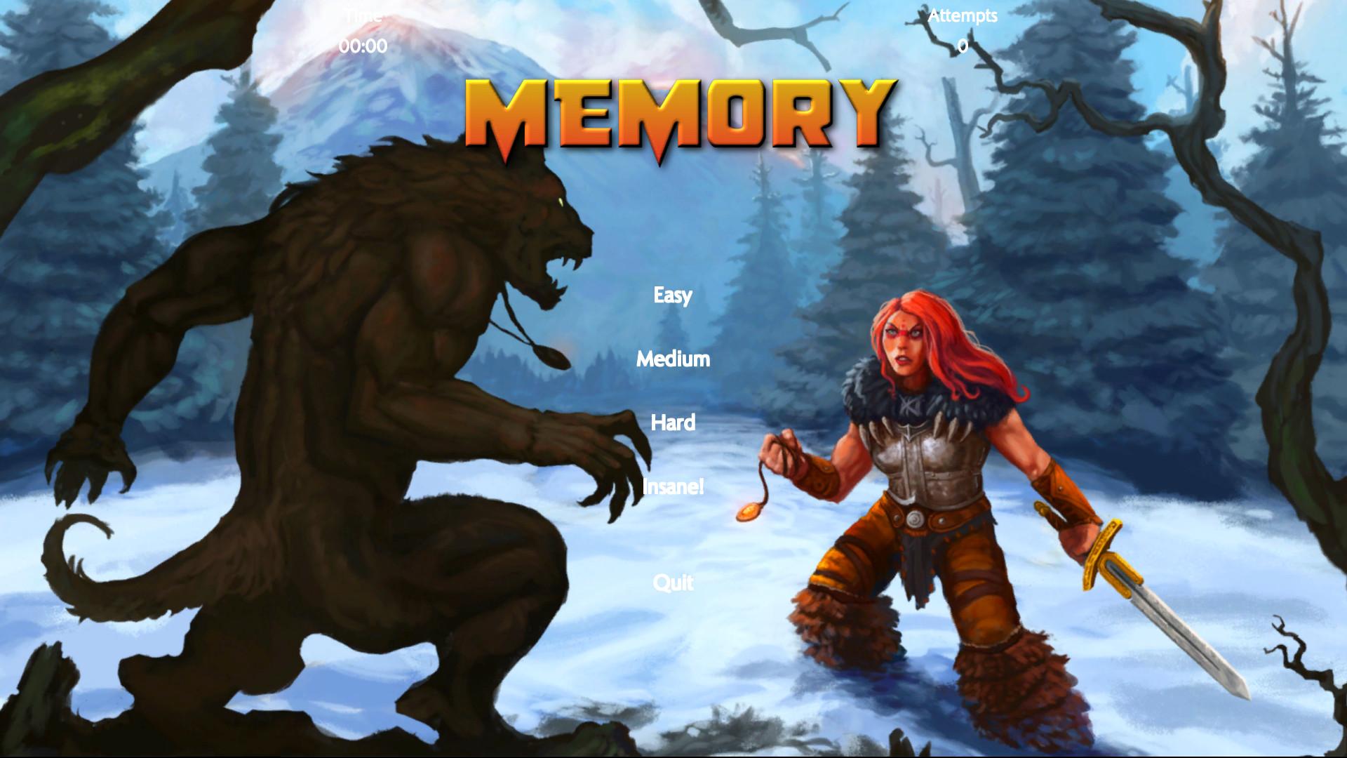 Fantasy Memory Card Game - Expansion Pack 7 screenshot