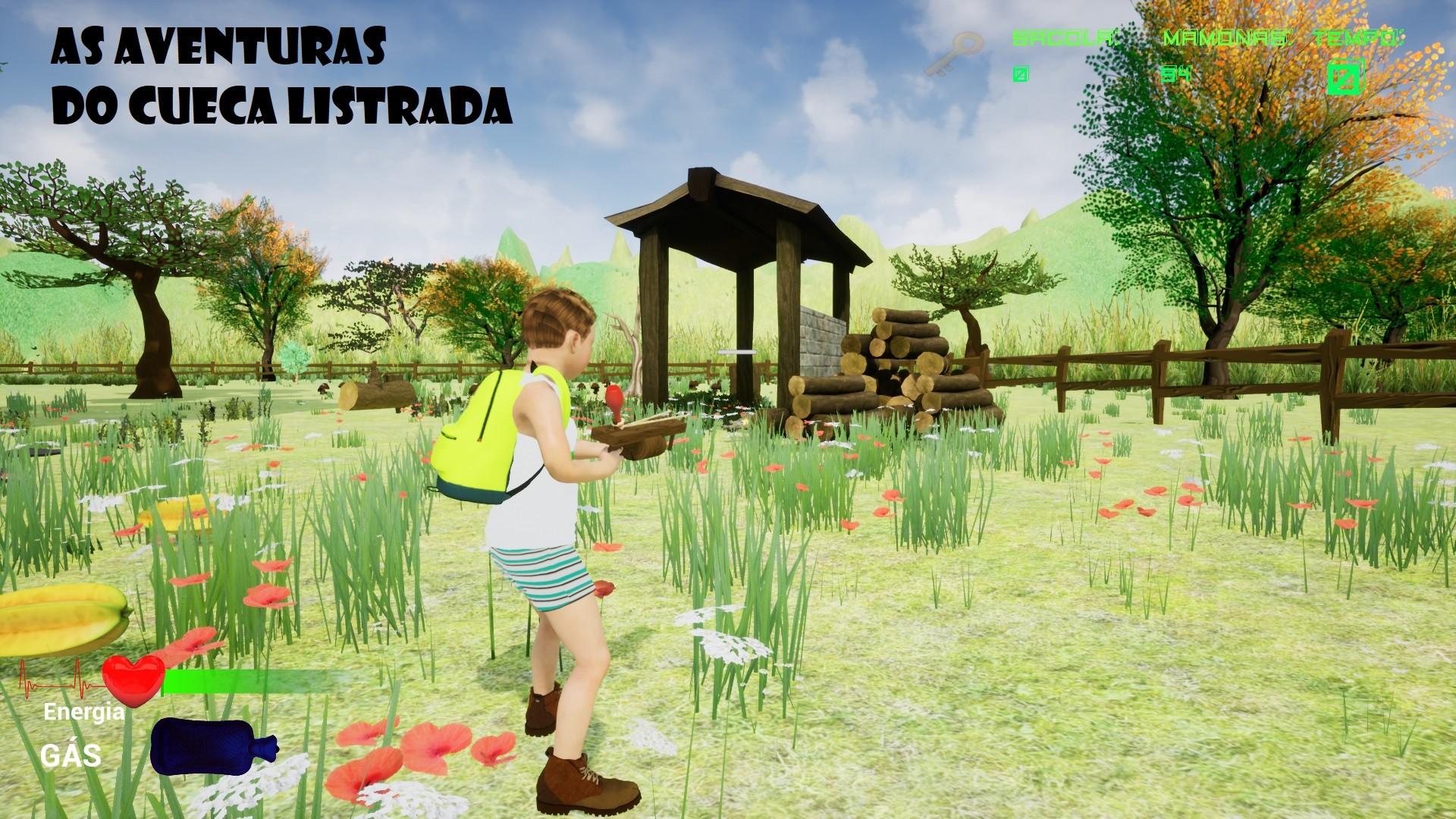 As Aventuras do Cueca Listrada screenshot