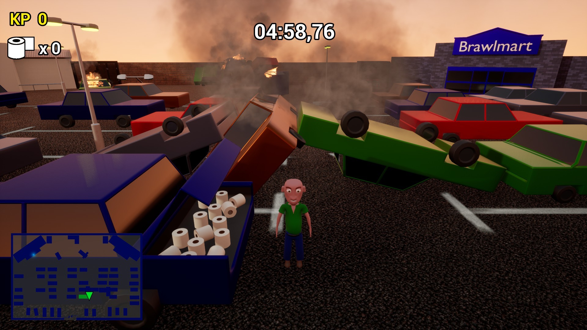 Toilet Paper Crisis Simulator 2020 screenshot