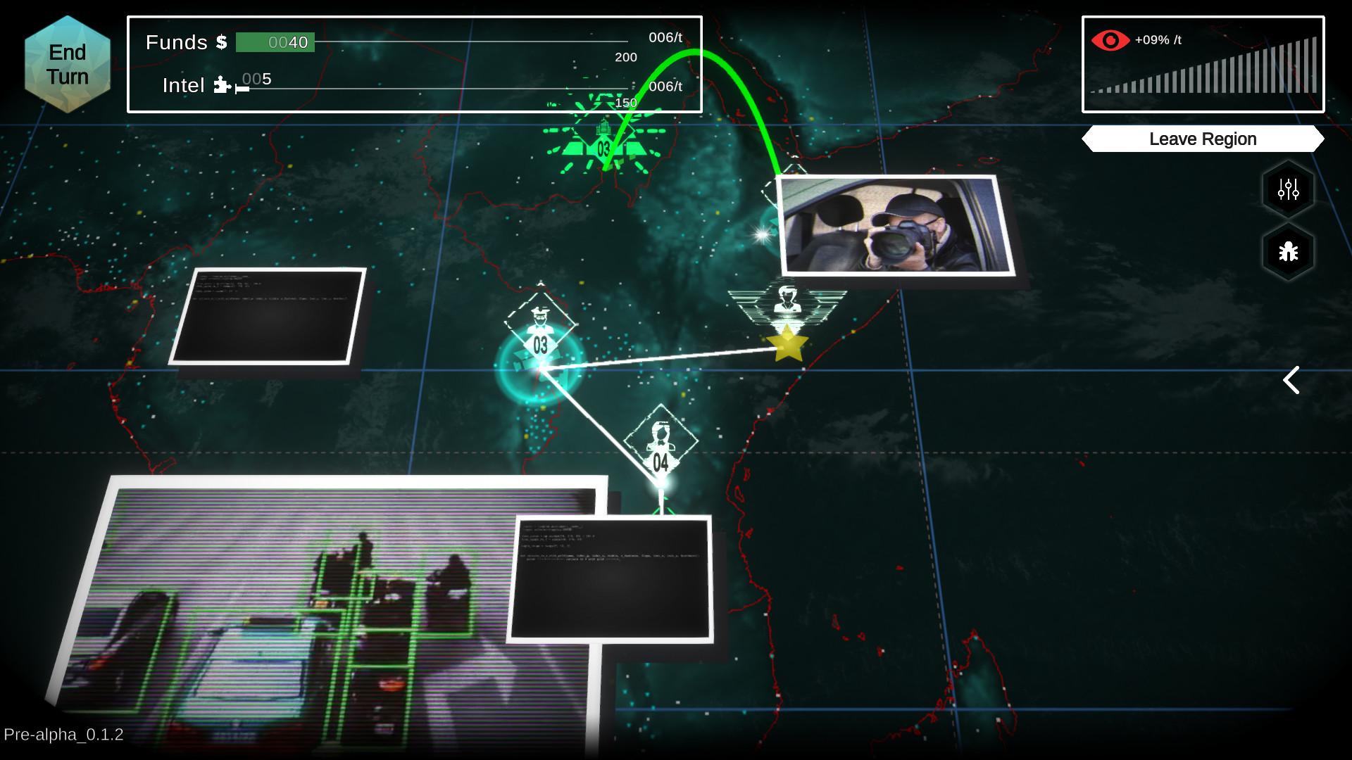 The Shadow Government Simulator screenshot