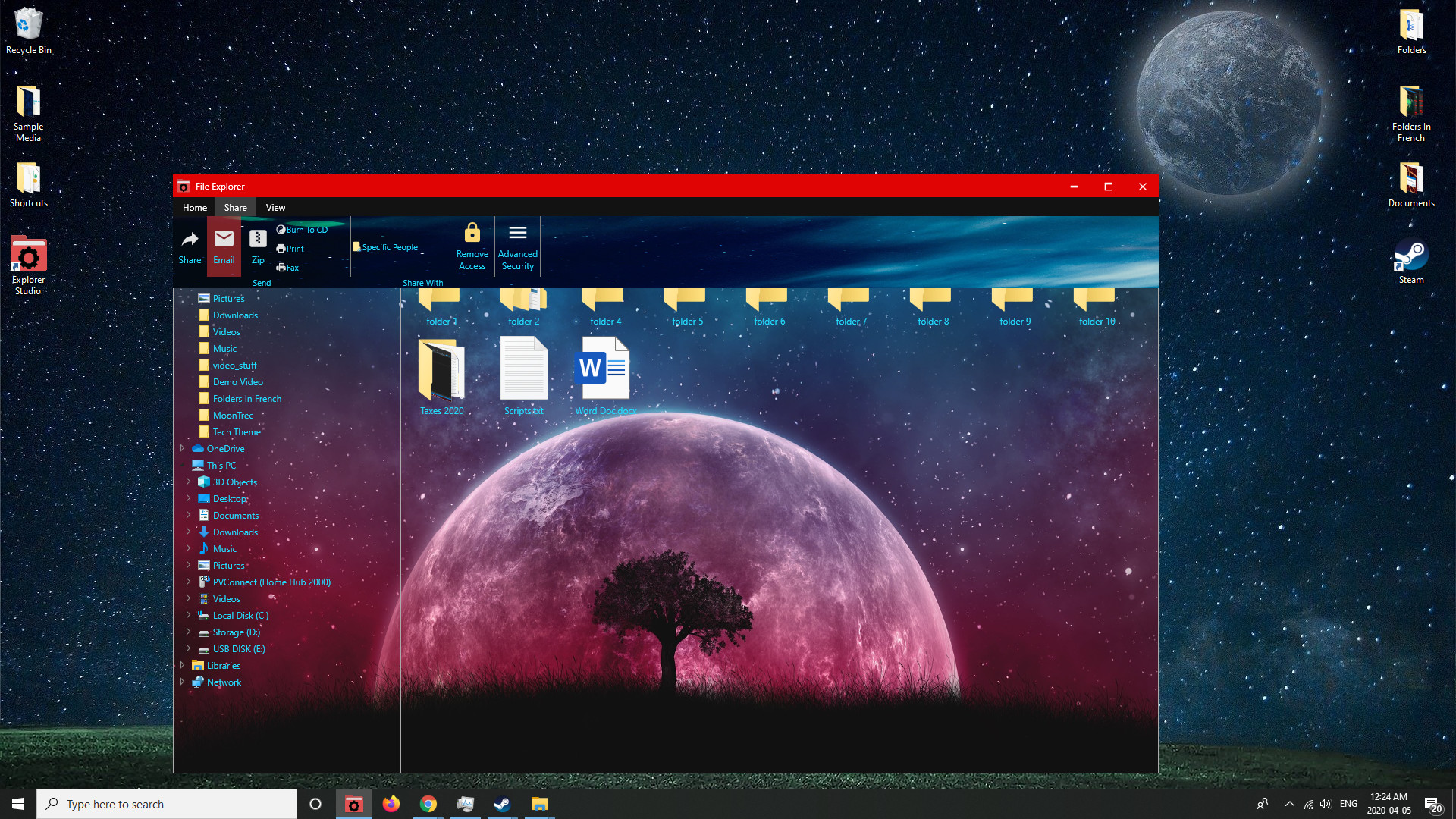 Explorer Studio screenshot