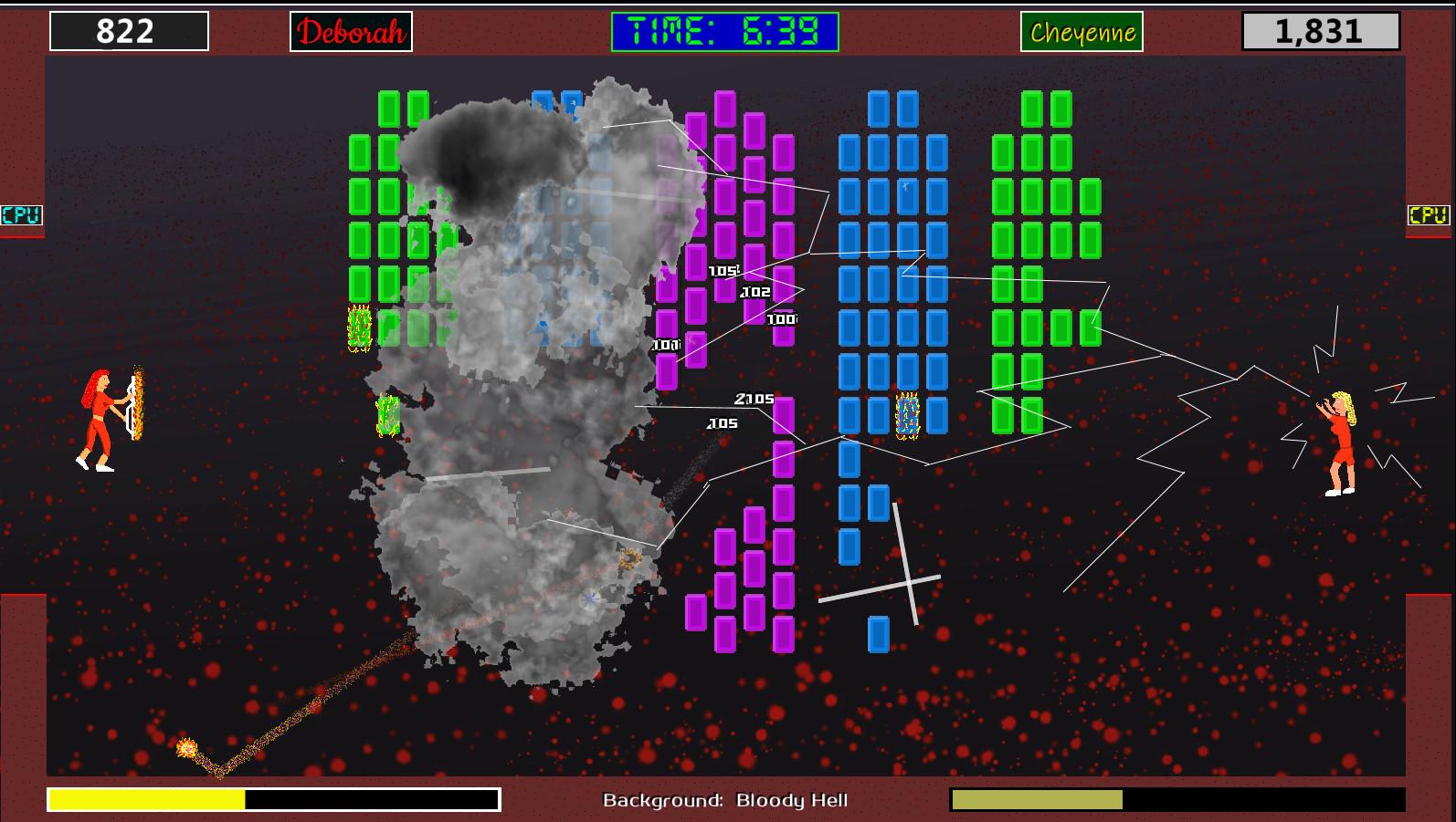 Prison Ball - Playable Character: Cheyenne Storm screenshot