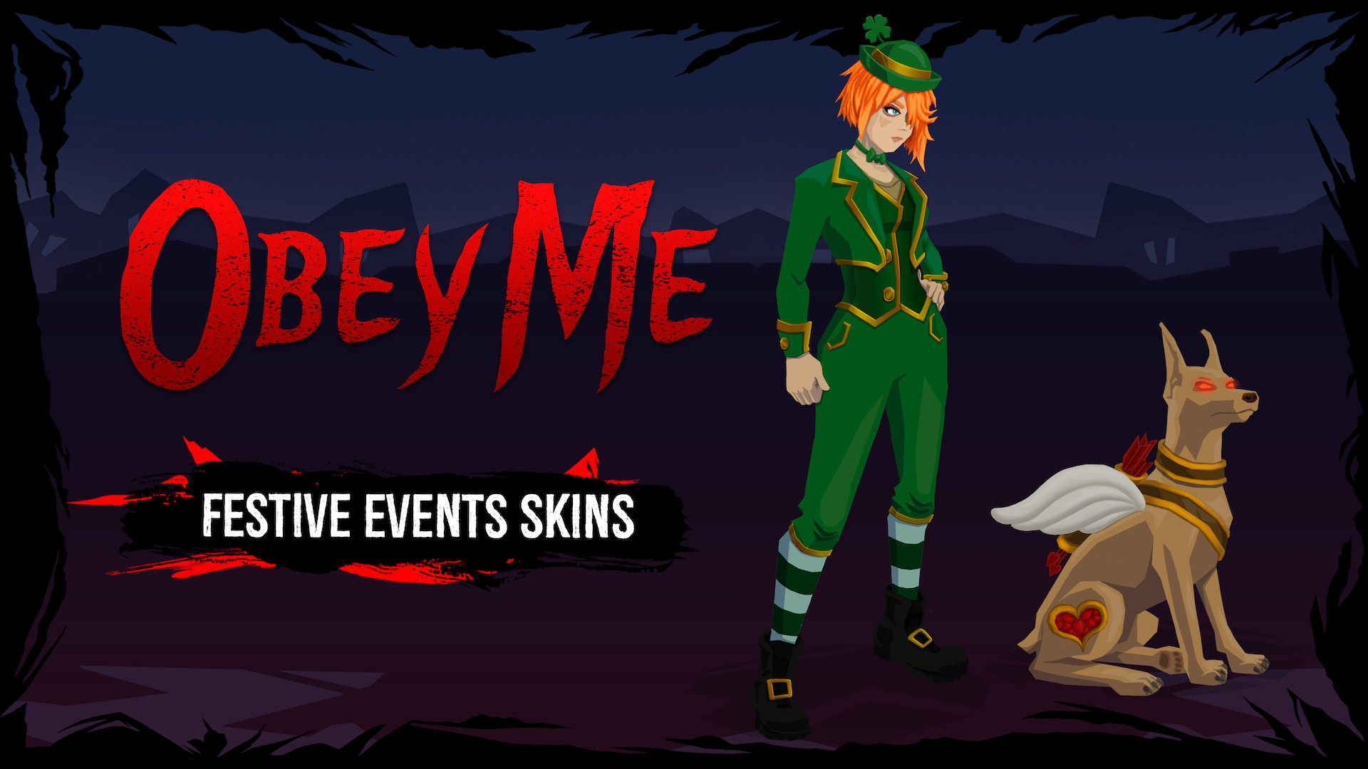 Obey Me - Festive Events Skin Pack screenshot