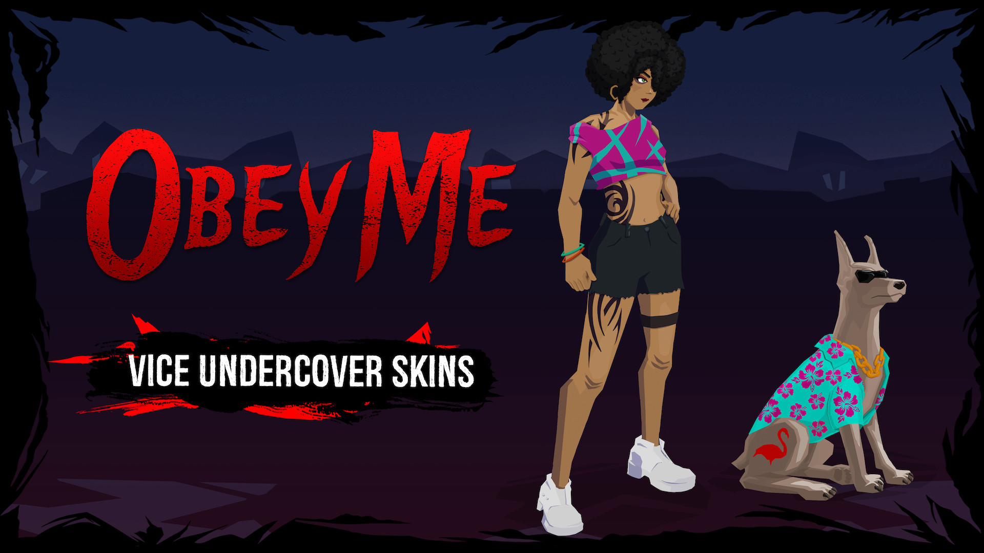 Obey Me - Vice Undercover Skin Pack screenshot