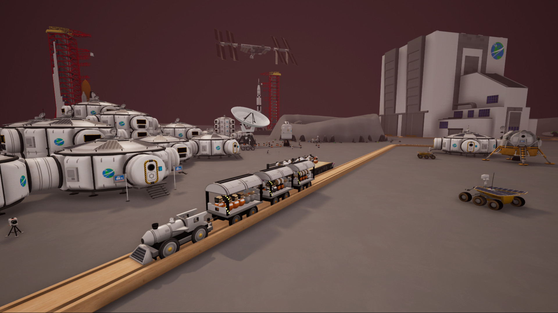 Tracks - The Train Set Game: Sci-Fi Pack screenshot