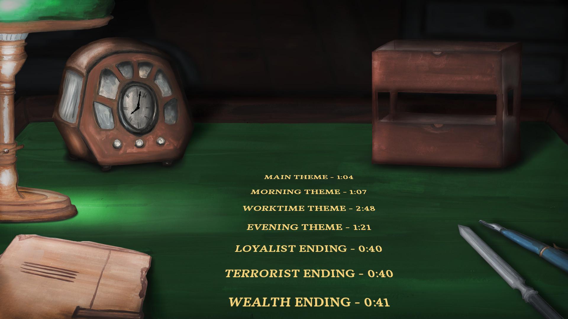 Section Six Soundtrack screenshot