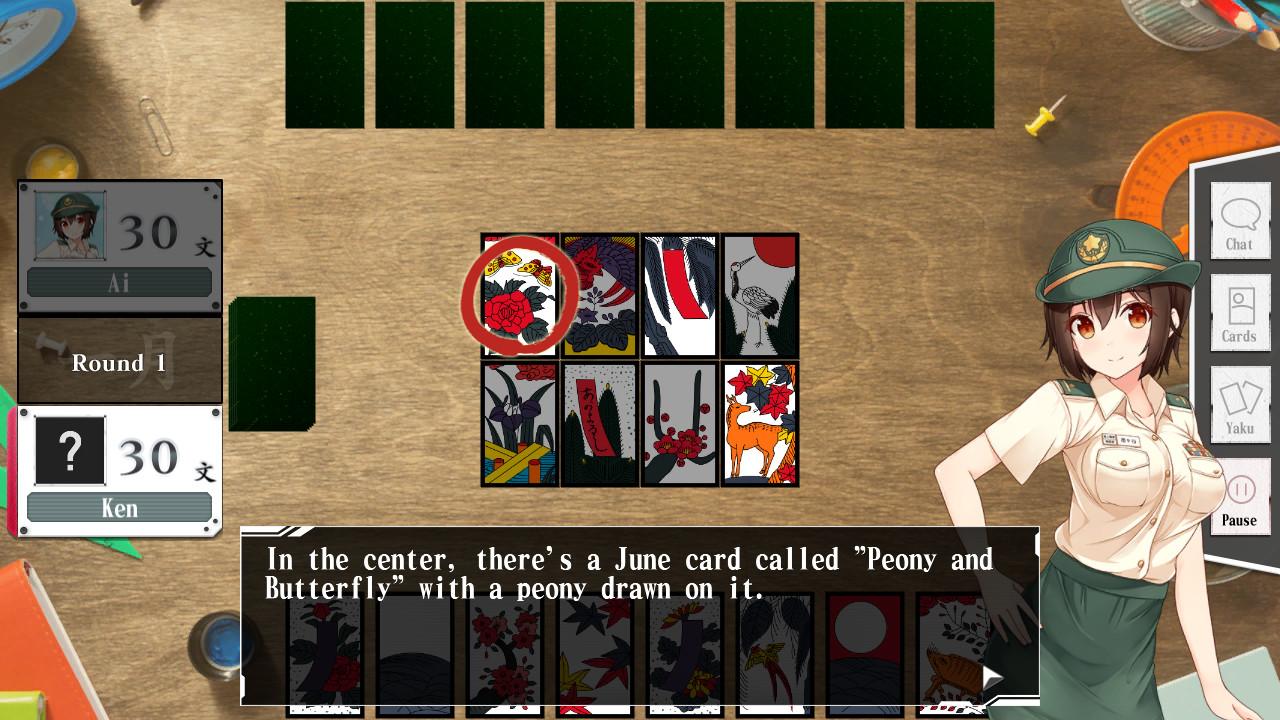 Bishoujo Battle Hanafuda Koi-Koi screenshot