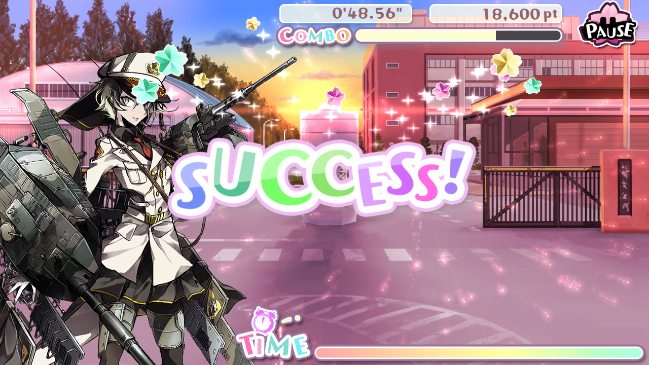 Bishoujo Battle Mahjong Solitaire screenshot