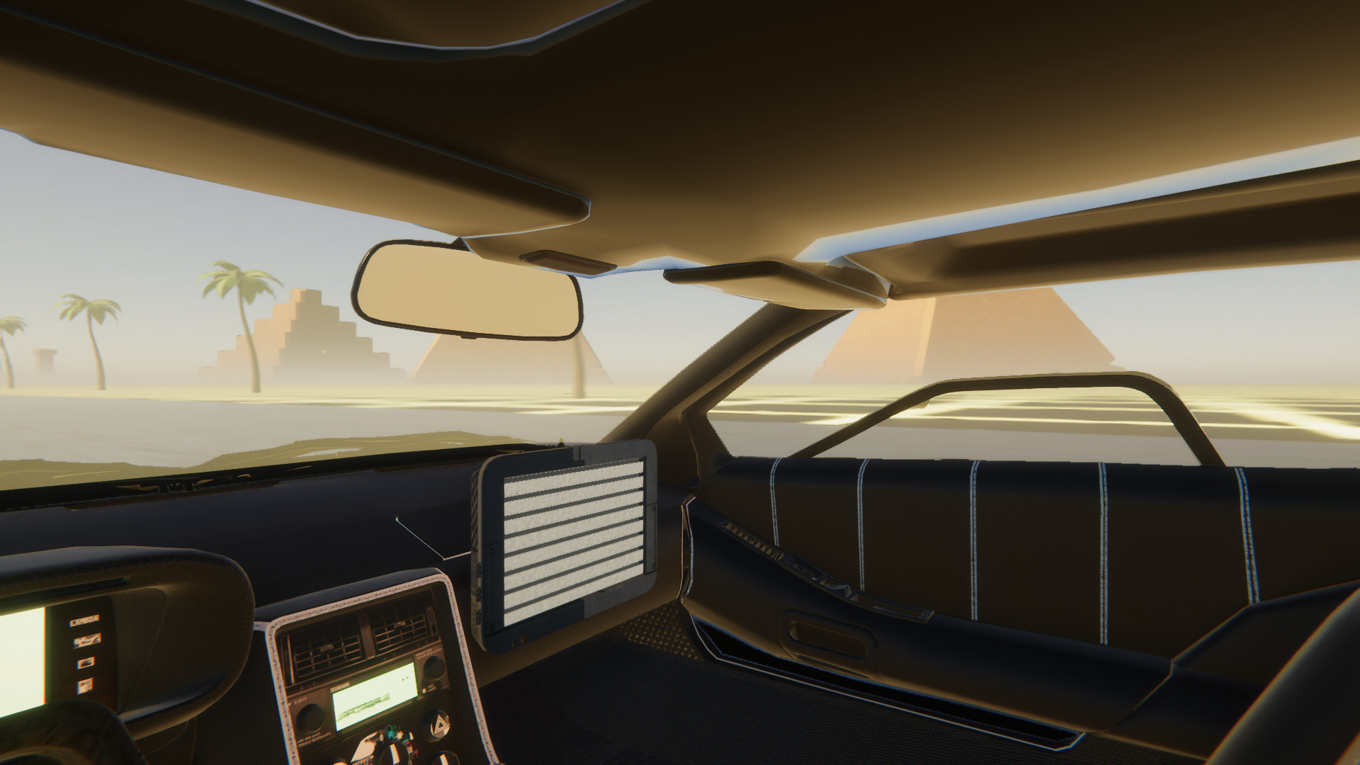 Vaporwave Road VR screenshot