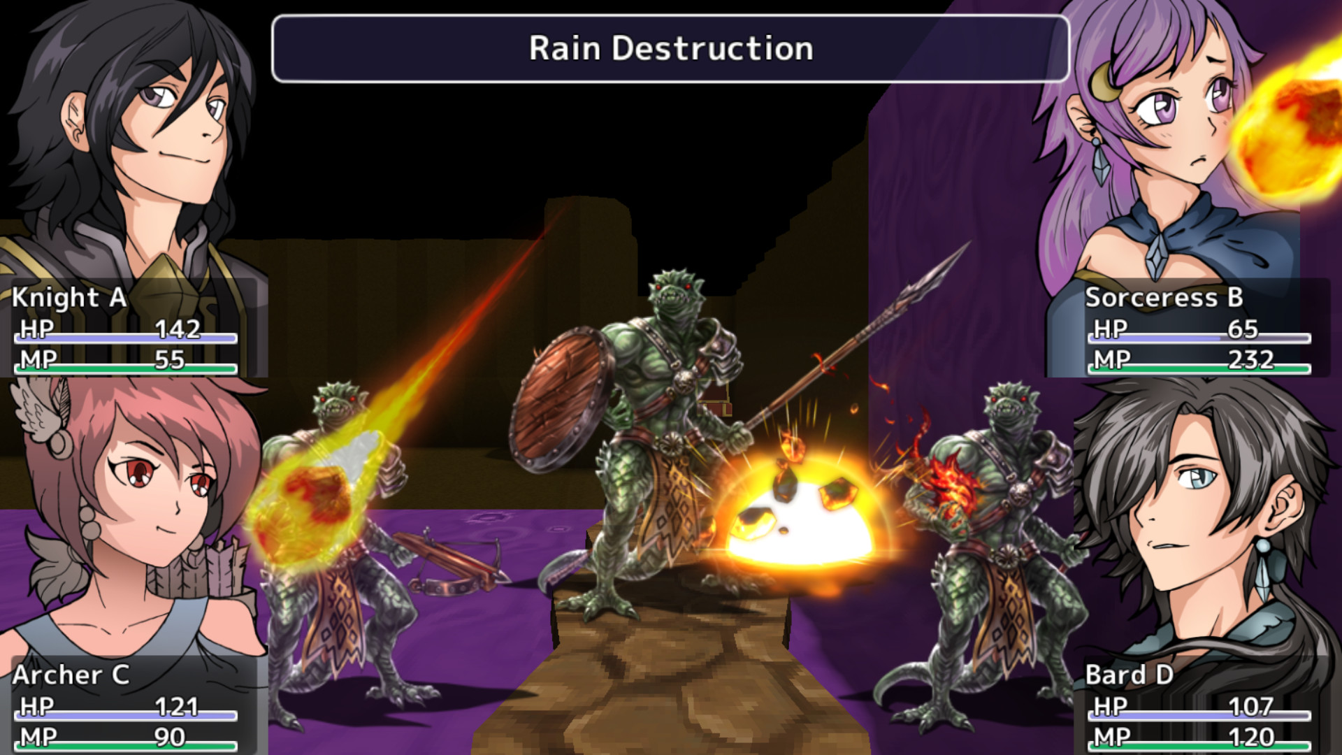 Dungeon of Trials screenshot
