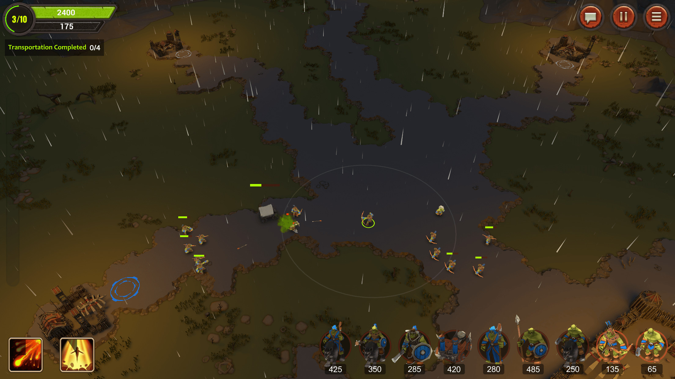 Orc's Civil War screenshot