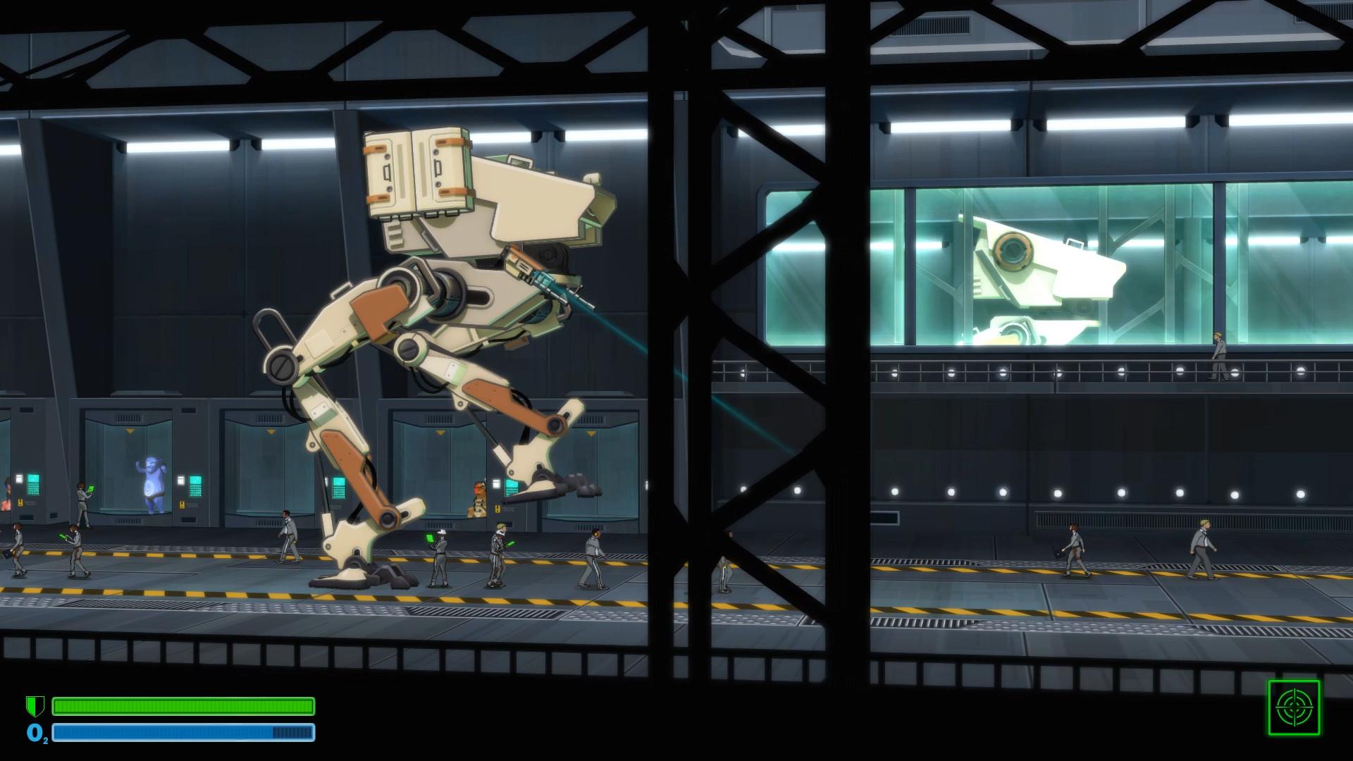 BE-A Walker Soundtrack screenshot