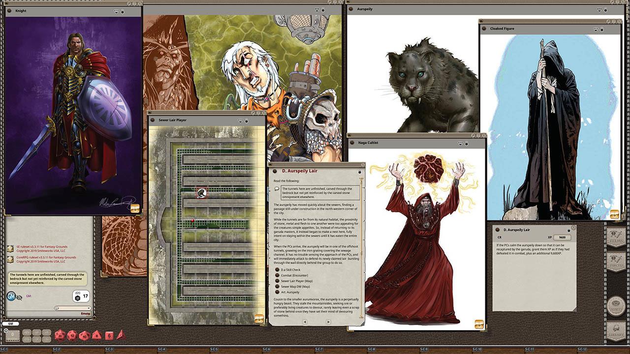 Fantasy Grounds - B05: To Catch a Serpent screenshot