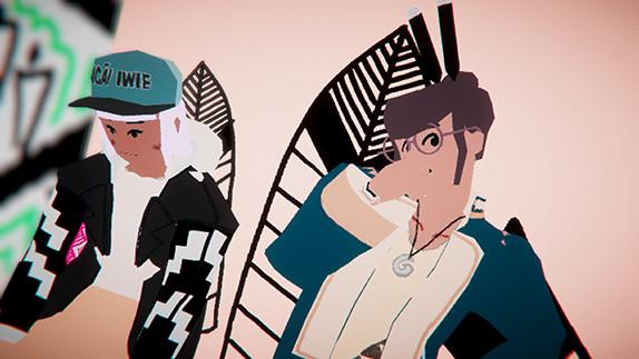 Umurangi Generation Soundtrack screenshot