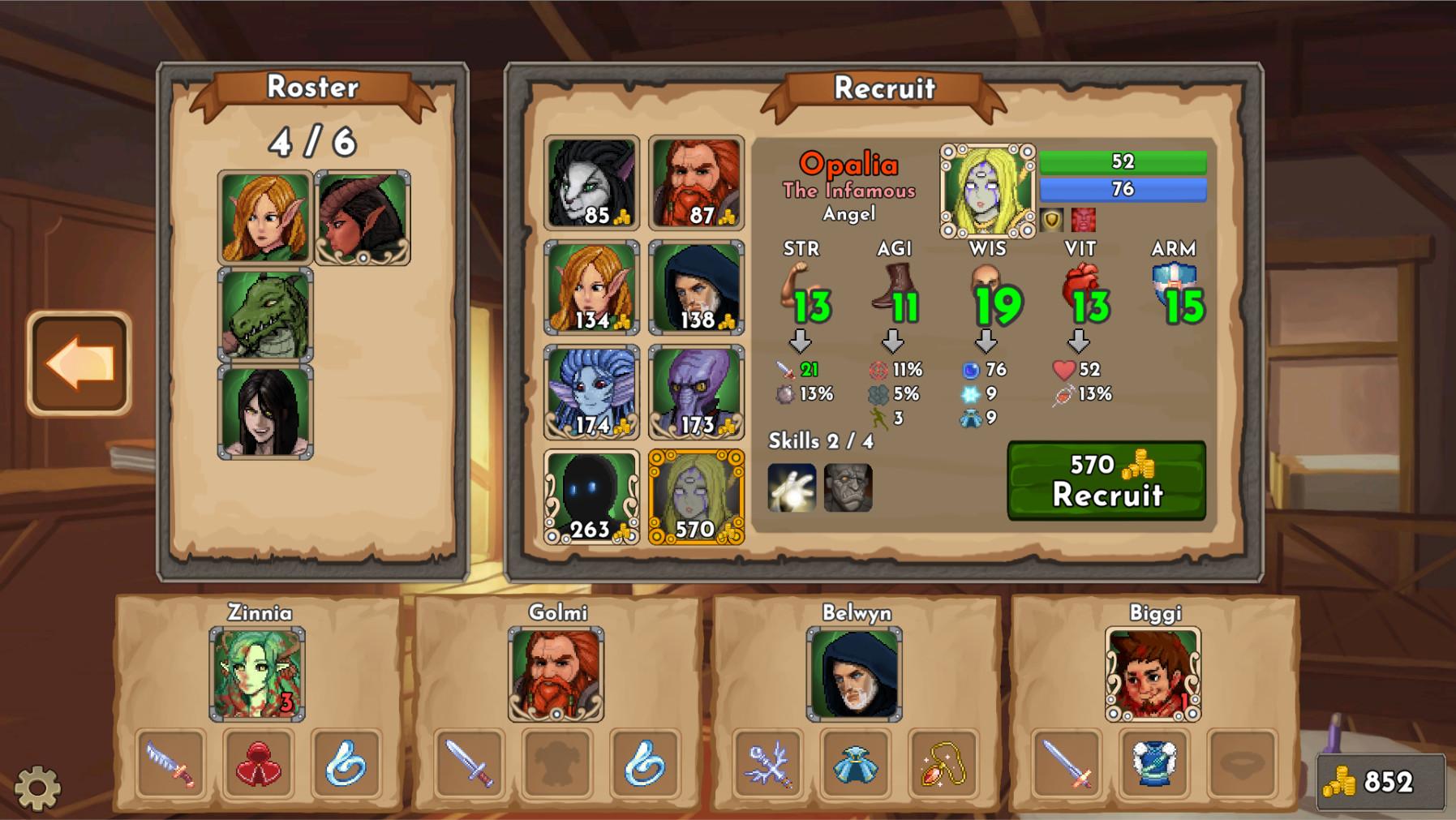 Mortal Glory - Fresh Blood DLC screenshot