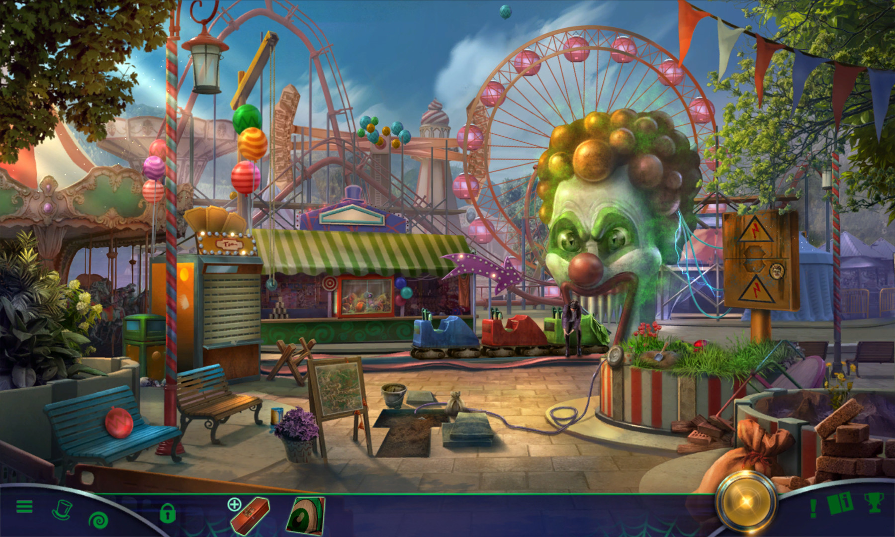 Fright Chasers: Thrills, Chills and Kills Collector's Edition screenshot