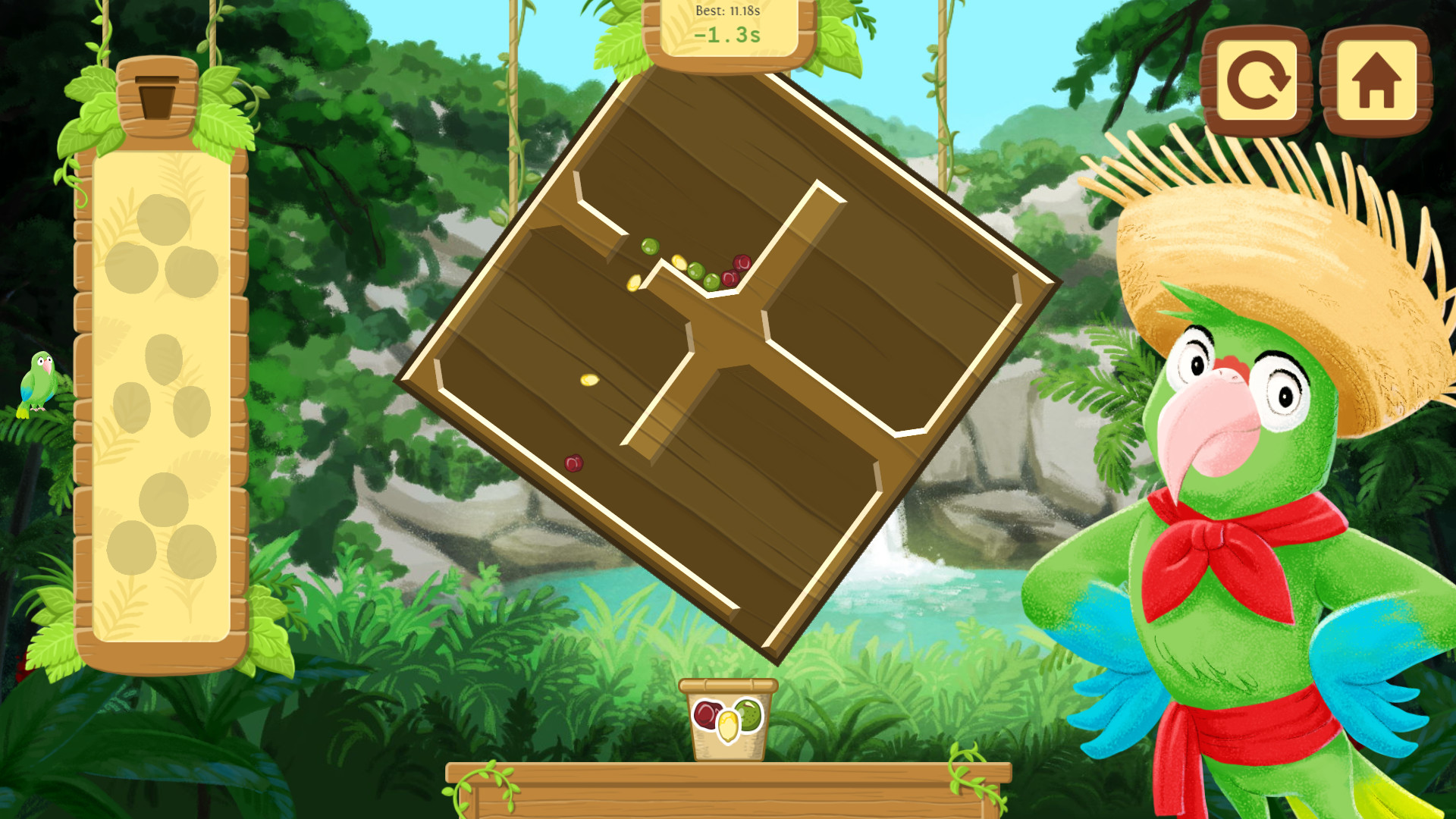 Paco and the Tumbling Seed Box screenshot