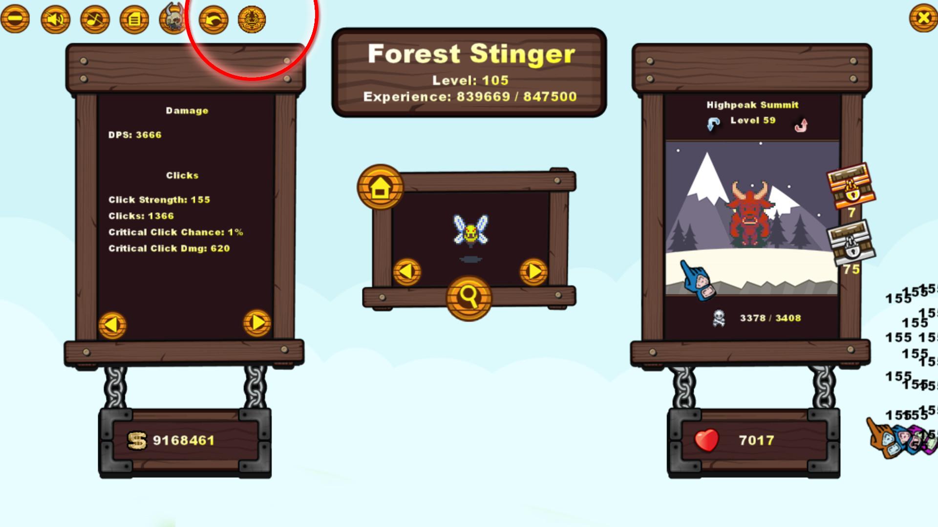 Creature Clicker - Wasp Sugar #1 screenshot