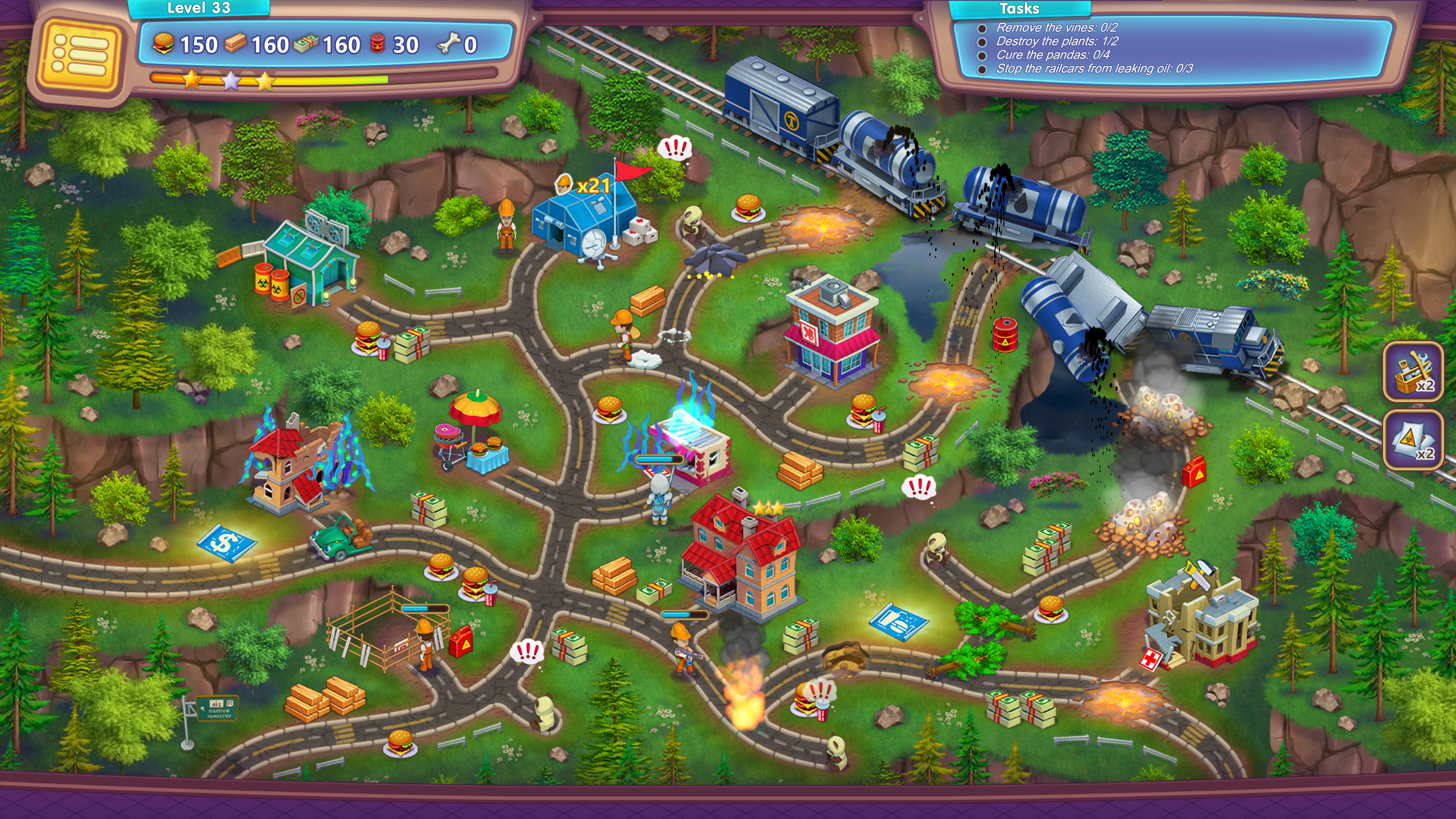 Rescue Team: Danger from Outer Space! screenshot