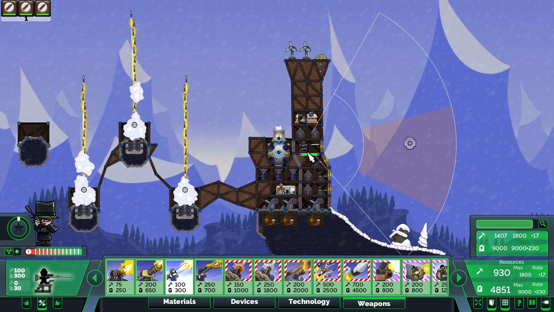 Forts - Pro HUD screenshot