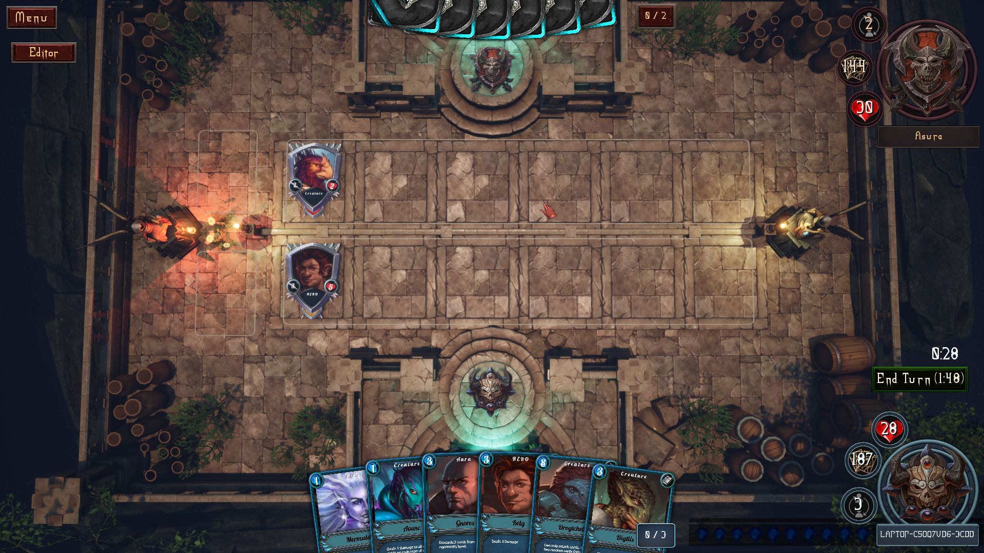 ARTHA: Epic Card Battle Game screenshot
